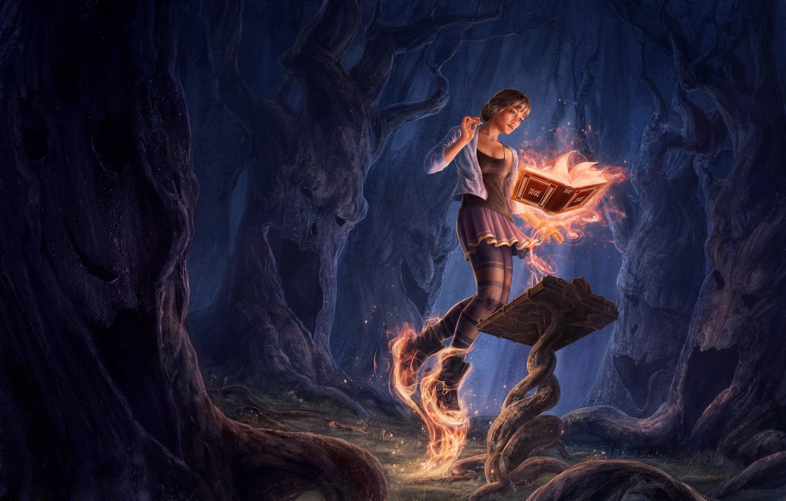 Красивые картинки фэнтези магия