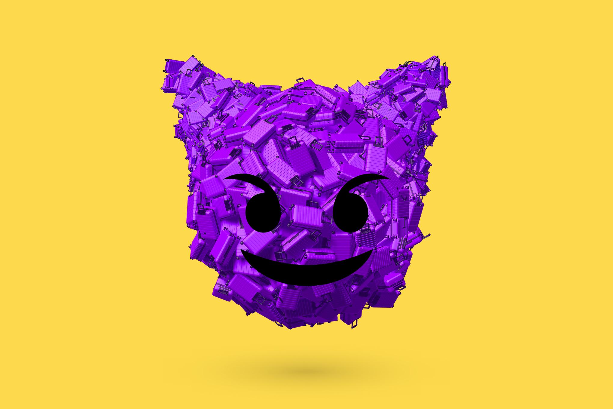 digital digital art Emoji Devil 3D 1743605
