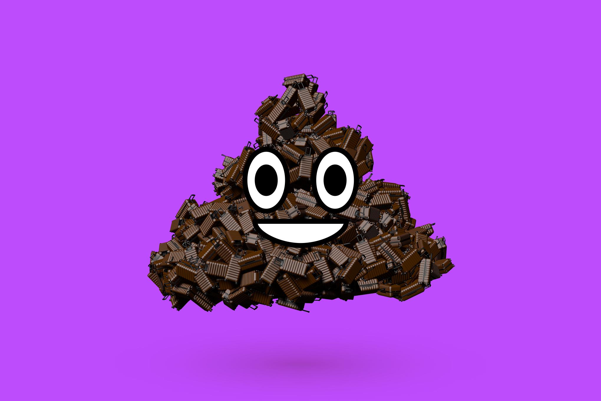 digital digital art Emoji the verge 3D 1743597