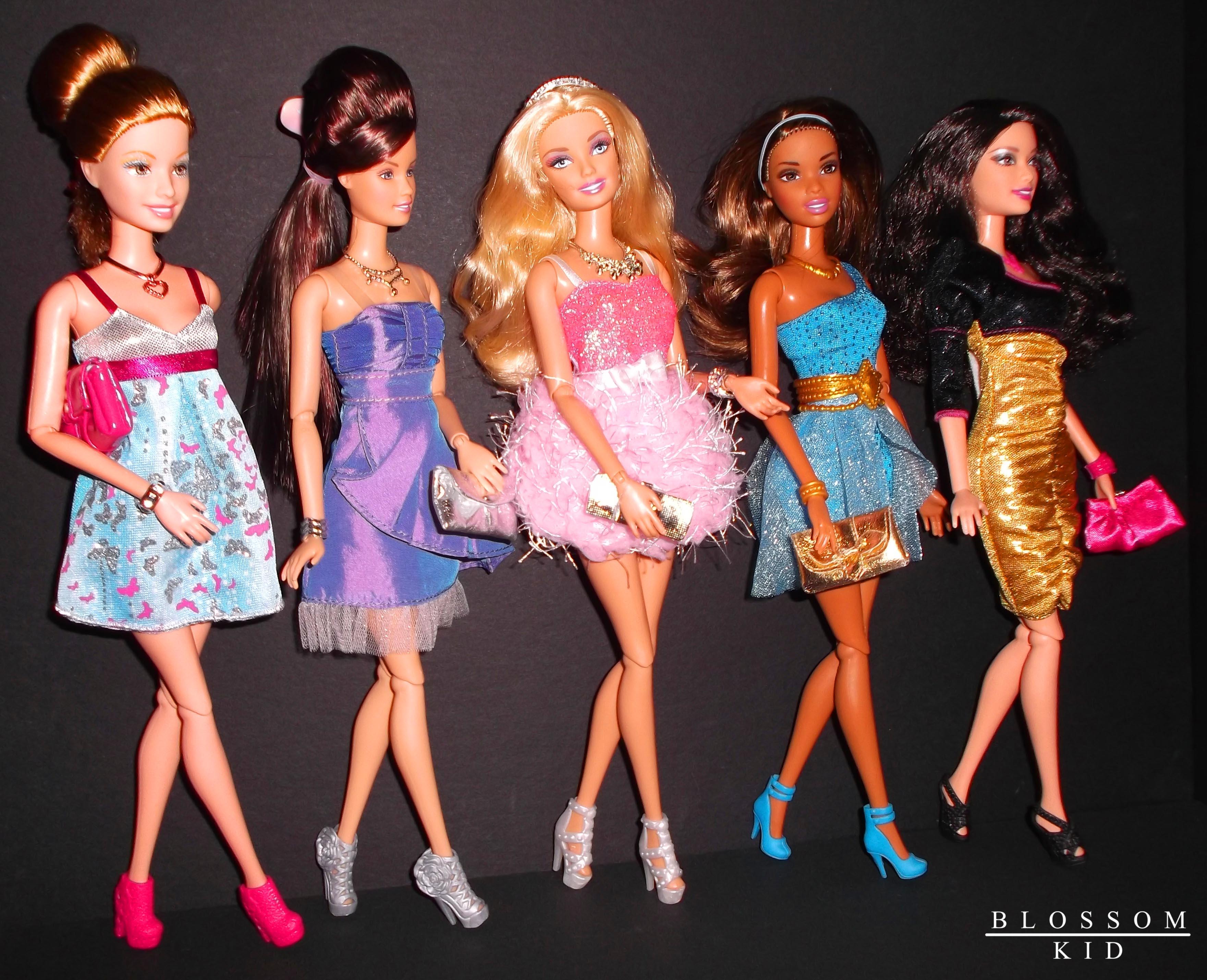 - Barbie a dessiner ...