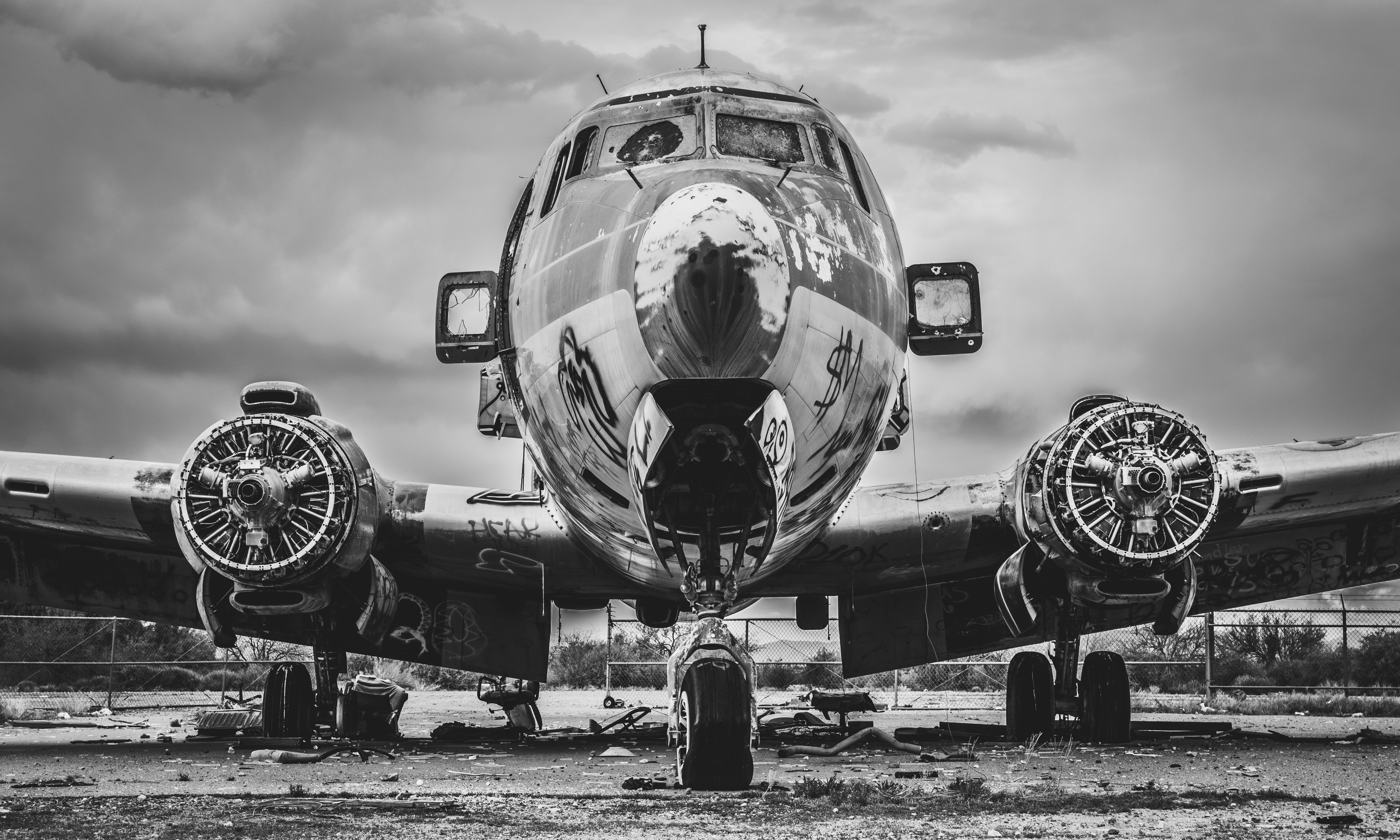 Wallpaper Douglas Dc6 Aircraft Old Airplane Plane