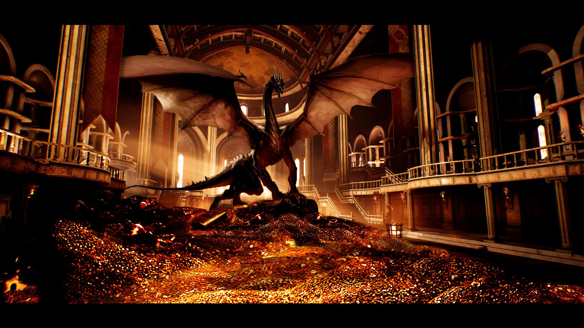 дракон клад картинки