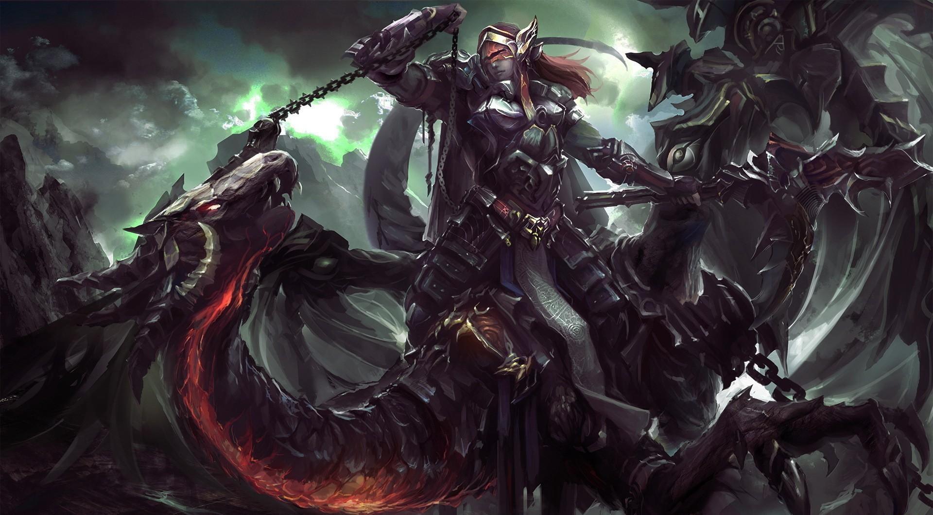 Dragon Rider Chain Gun Warrior