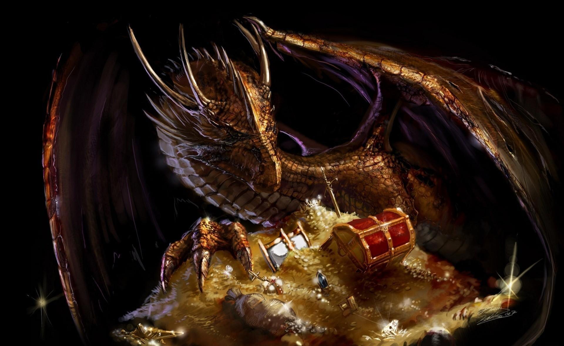 Fond d'écran : dragon, Trésor, or 1920x1180 - CoolWallpapers - 649370 - Fond d'écran - WallHere