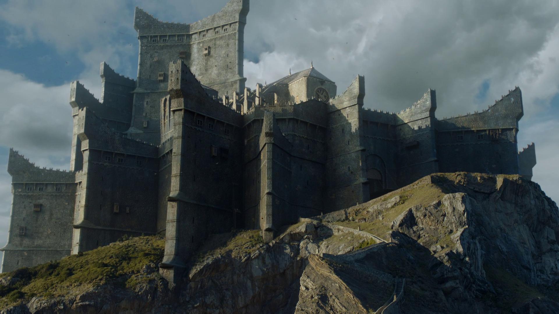 Замки игра престолов фото