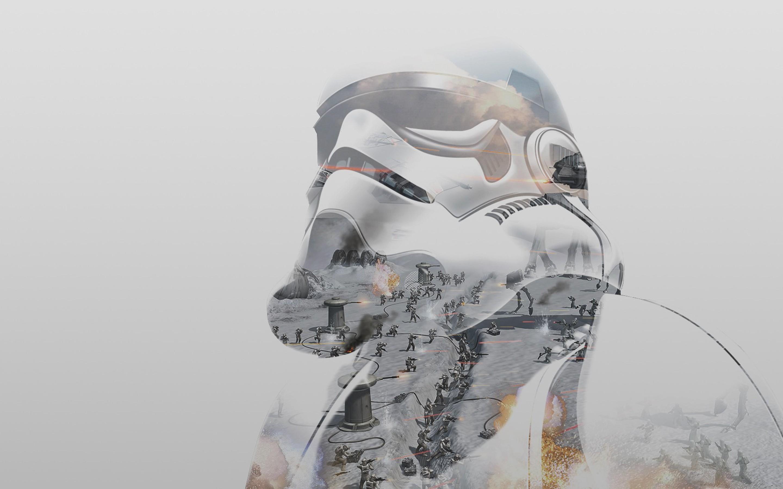 Wallpaper Gambar Star Wars Perang Stormtrooper Pakaian