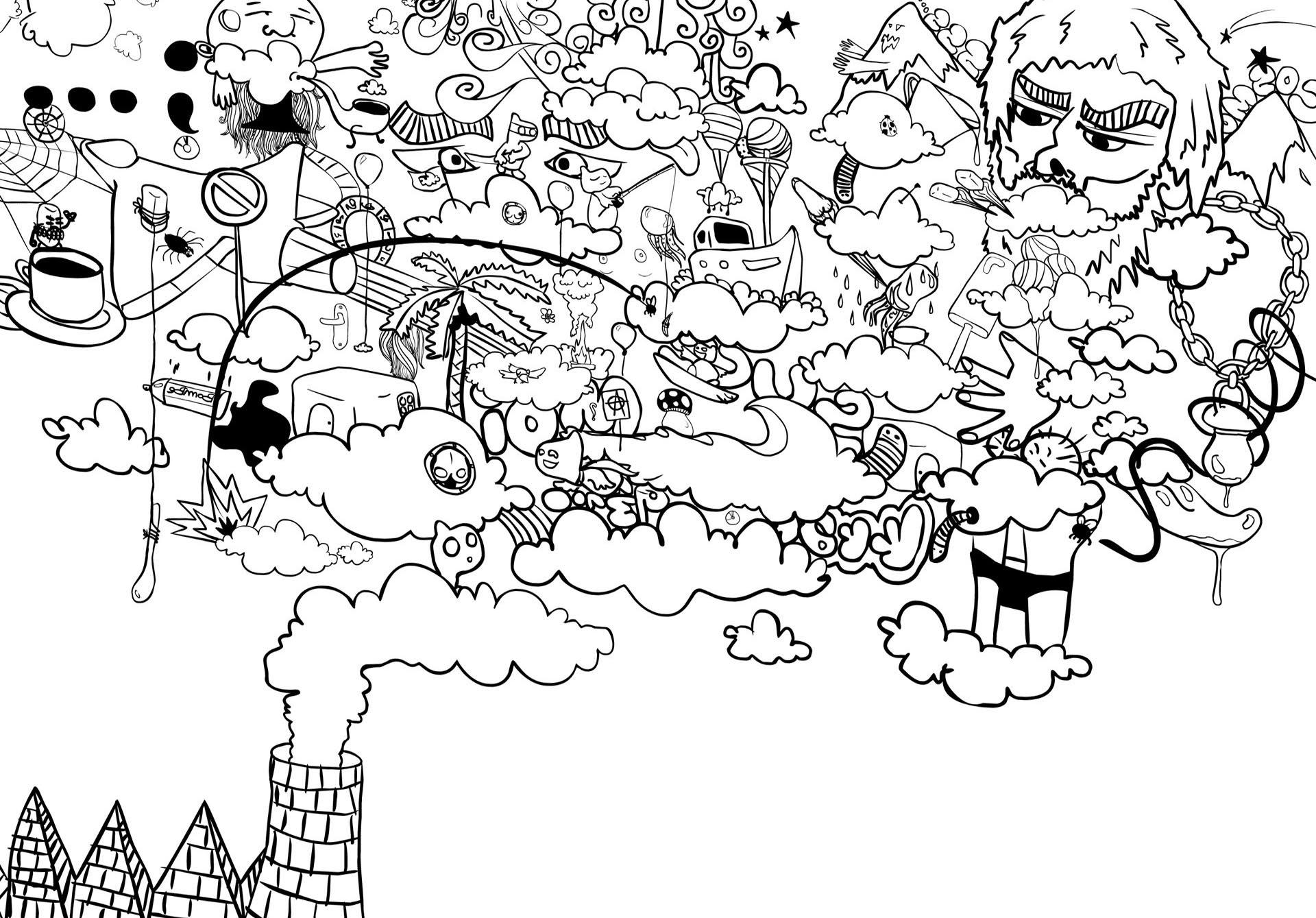 Wallpaper ilustrasi satu warna karya seni teks garis seni gambar kartun pola kepala karakter film SENI pohon daerah titik Desain