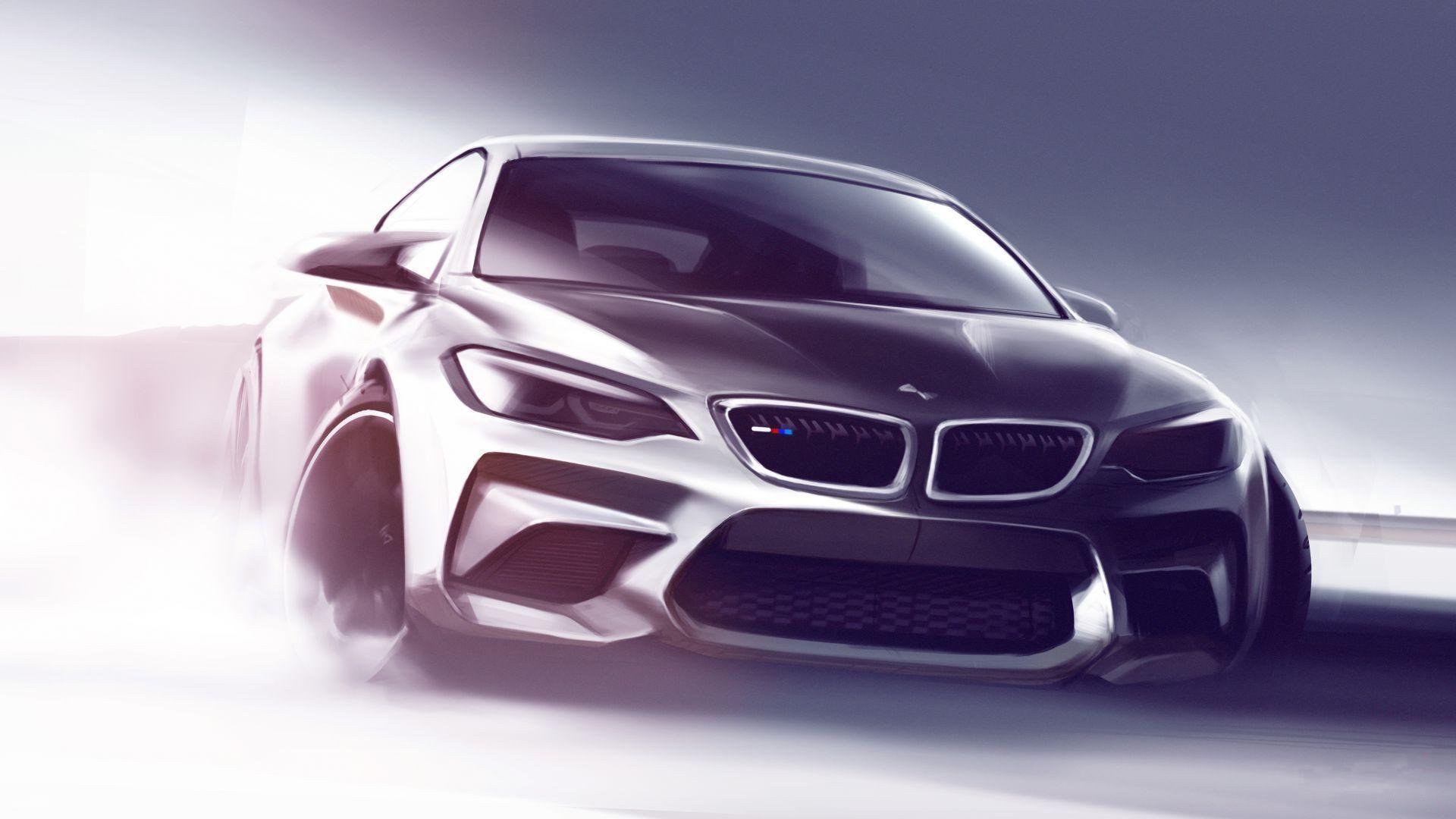 Wallpaper Drawing Concept Cars Sports Car Performance Car Bmw