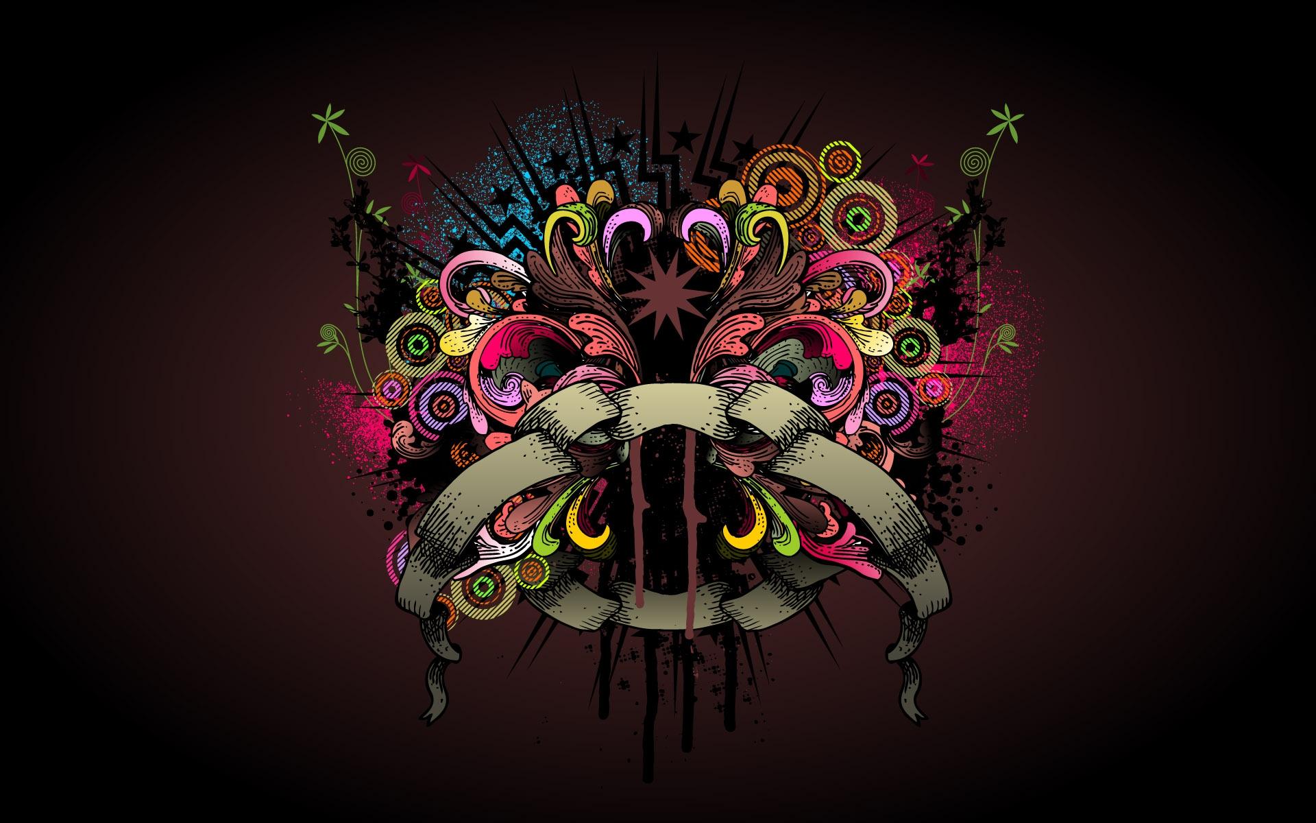 wallpaper : drawing, colorful, illustration, purple, symmetry