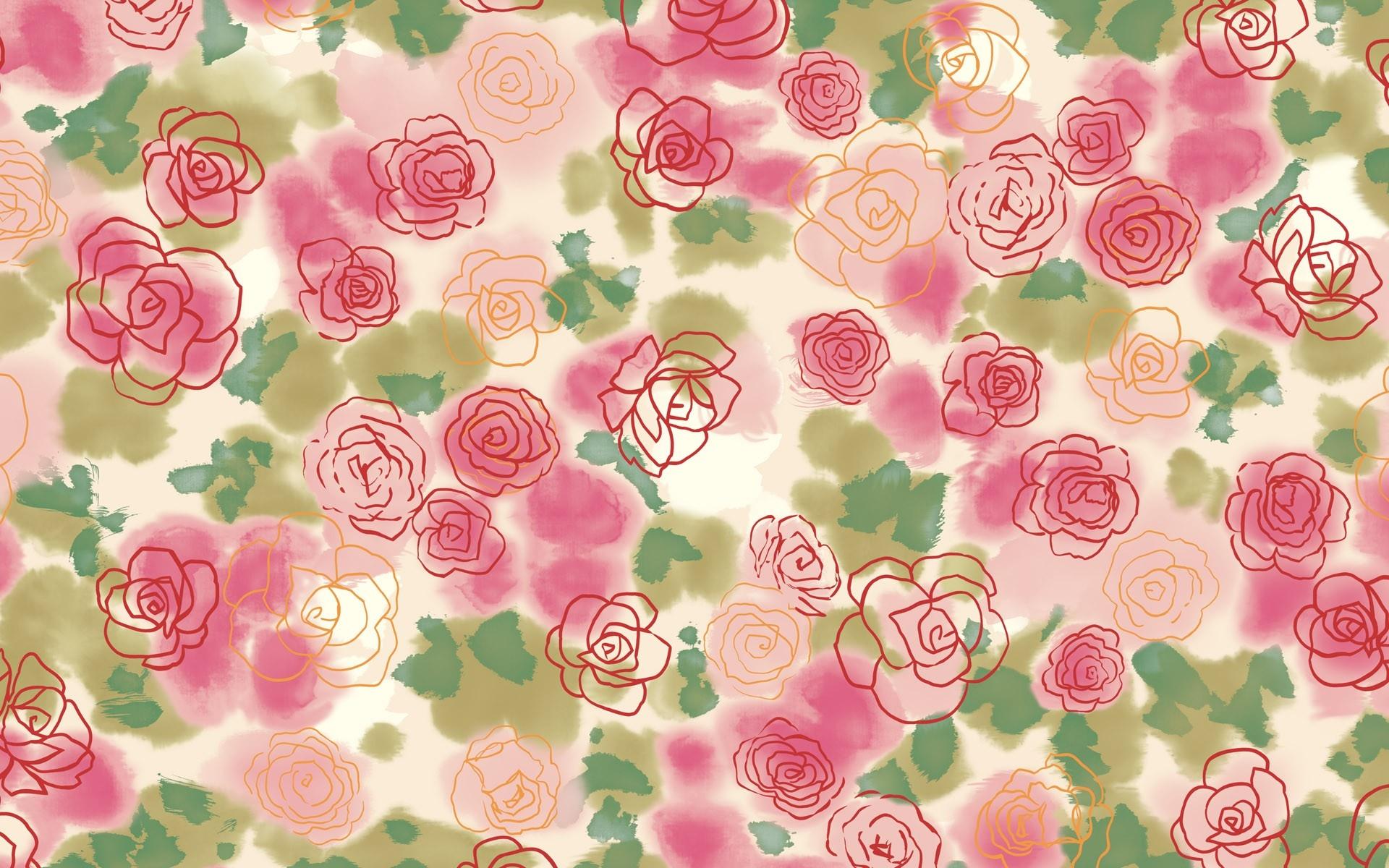 Fond D Ecran Dessin Aliments Fleurs Cœur Modele Cercle Rose