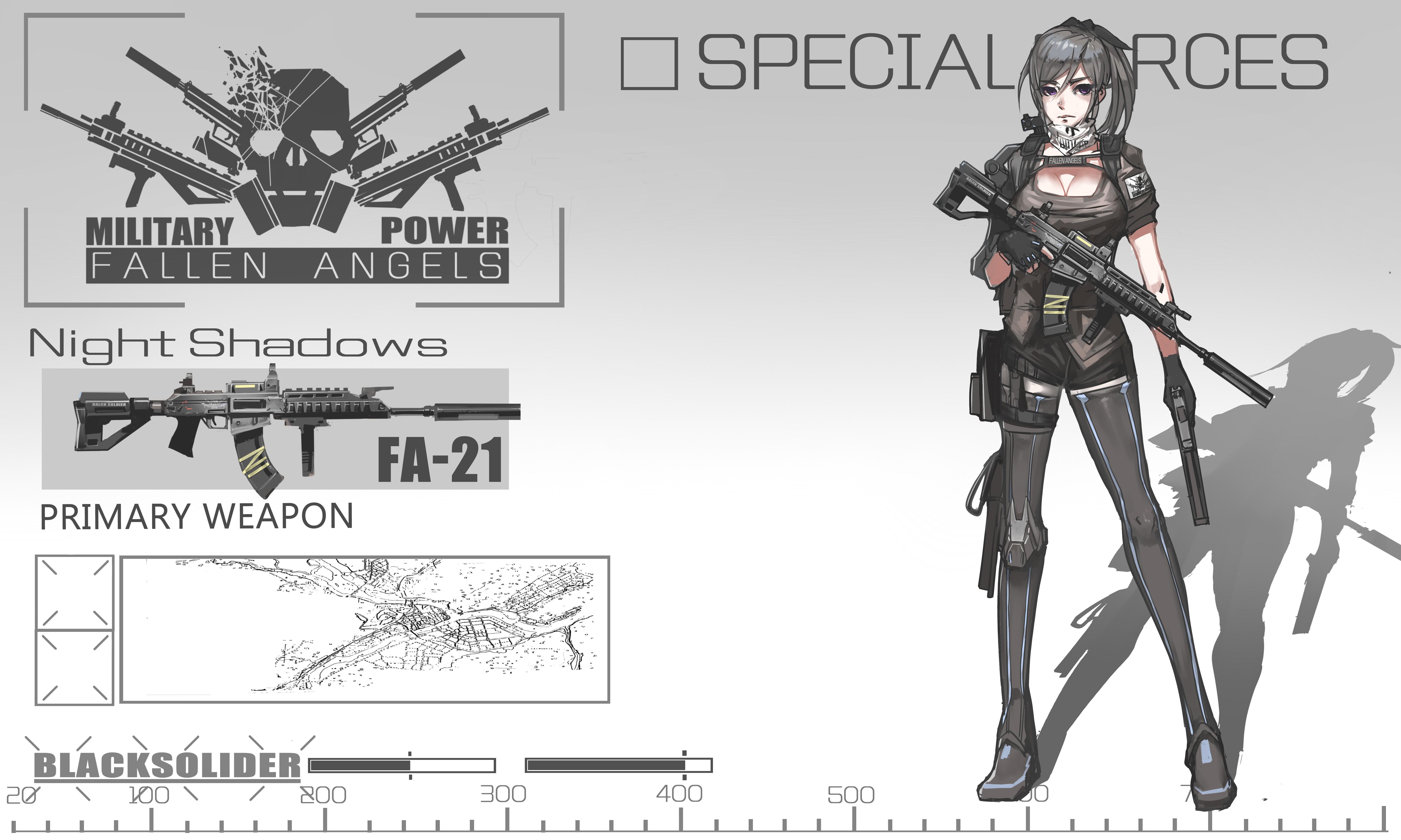 Wallpaper Drawing Gun Anime Girls Short Hair Weapon Soldier Cartoon Pink Eyes Machine Grey Hair Black Soldier Sketch 5905x3543 Cartergeneration 40137 Hd Wallpapers Wallhere