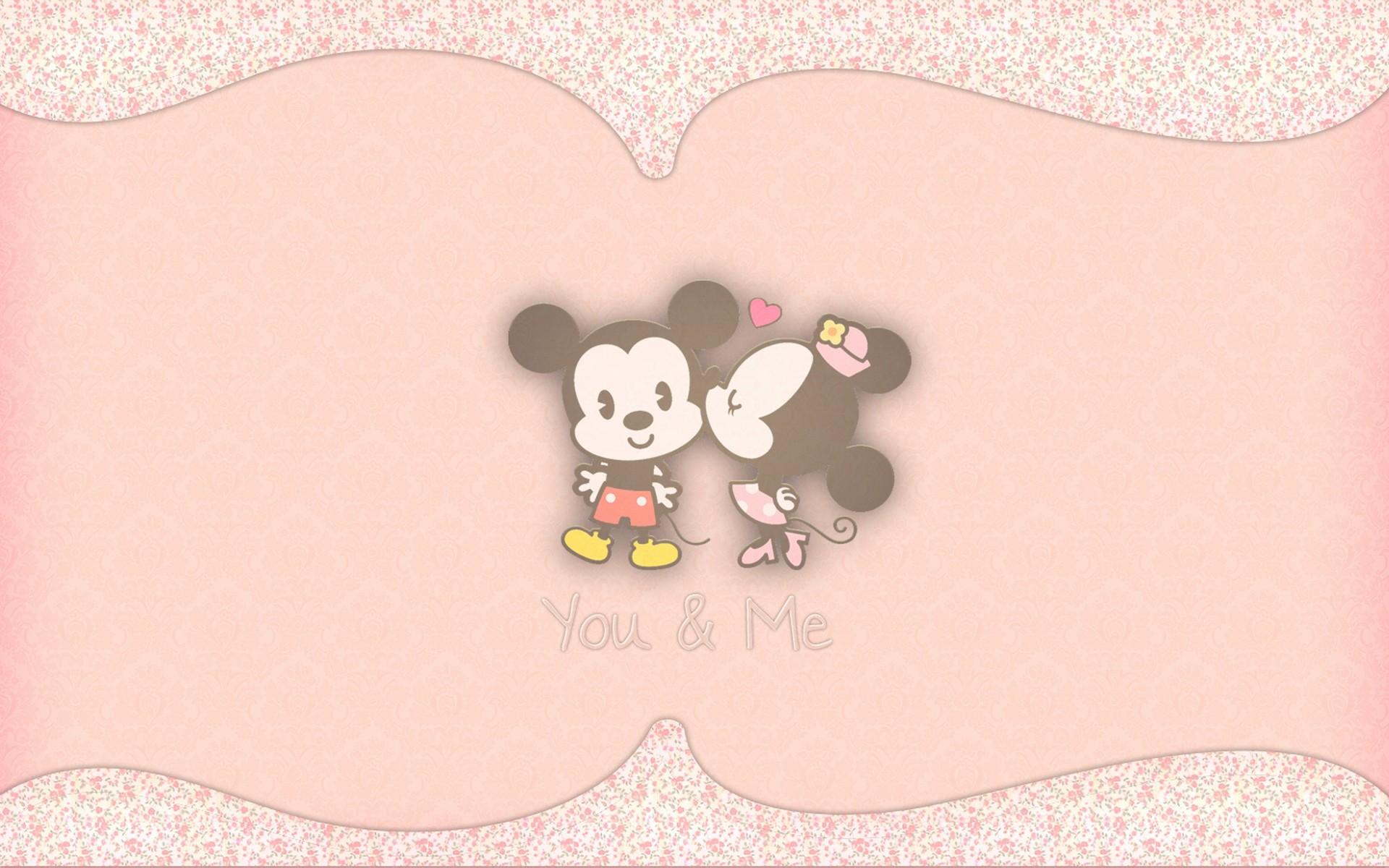 デスクトップ壁紙 お絵かき 図 ミッキーマウス 愛 ハート