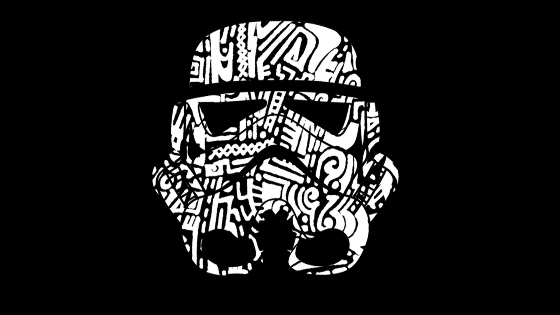 Wallpaper drawing illustration star wars logo skull head drawing illustration star wars monochrome logo skull head clone trooper black and white monochrome photography font voltagebd Images