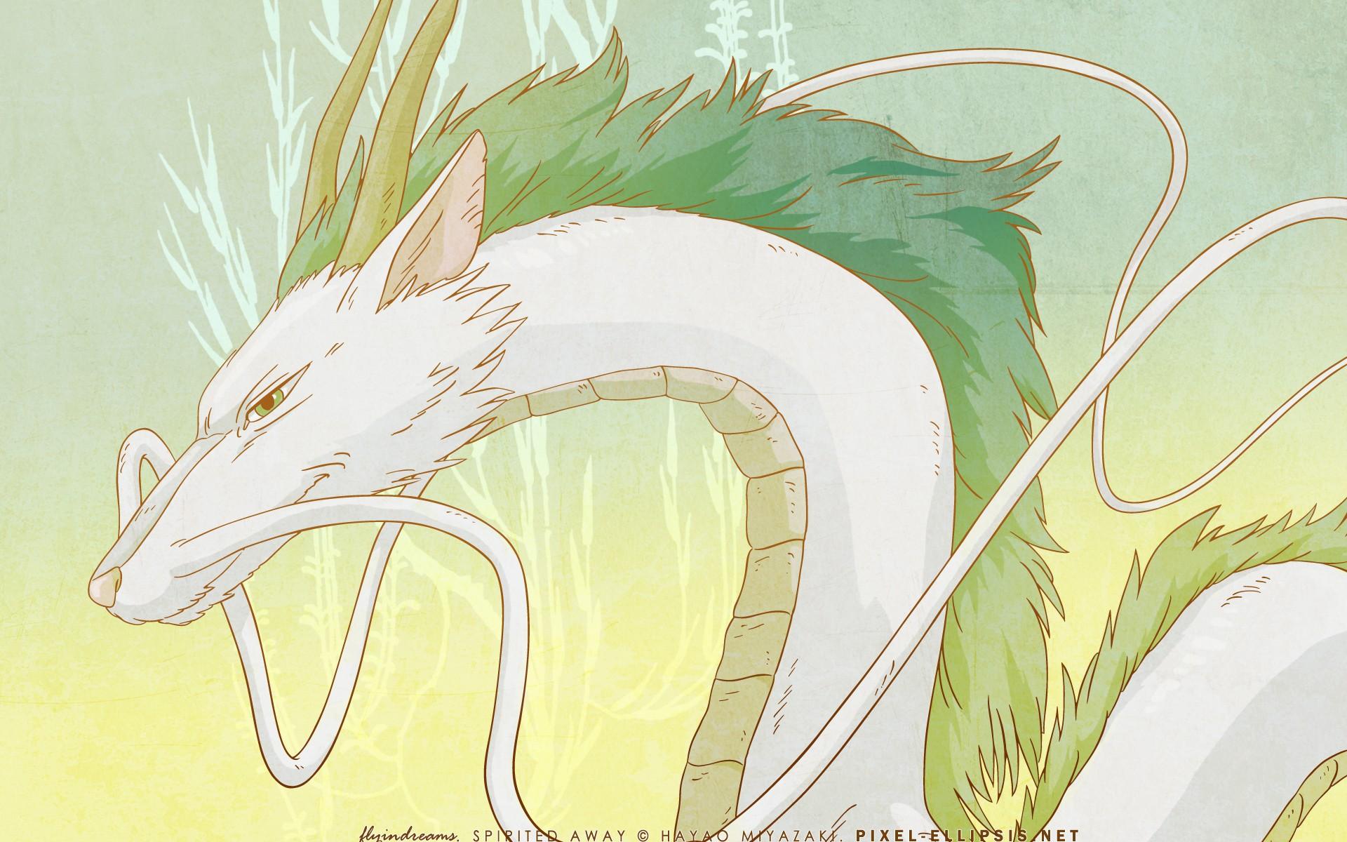 Wallpaper Drawing Illustration Anime Spirited Away Cartoon Dragon Studio Ghibli Wing Sketch Fictional Character 1920x1200 Poune 282976 Hd Wallpapers Wallhere