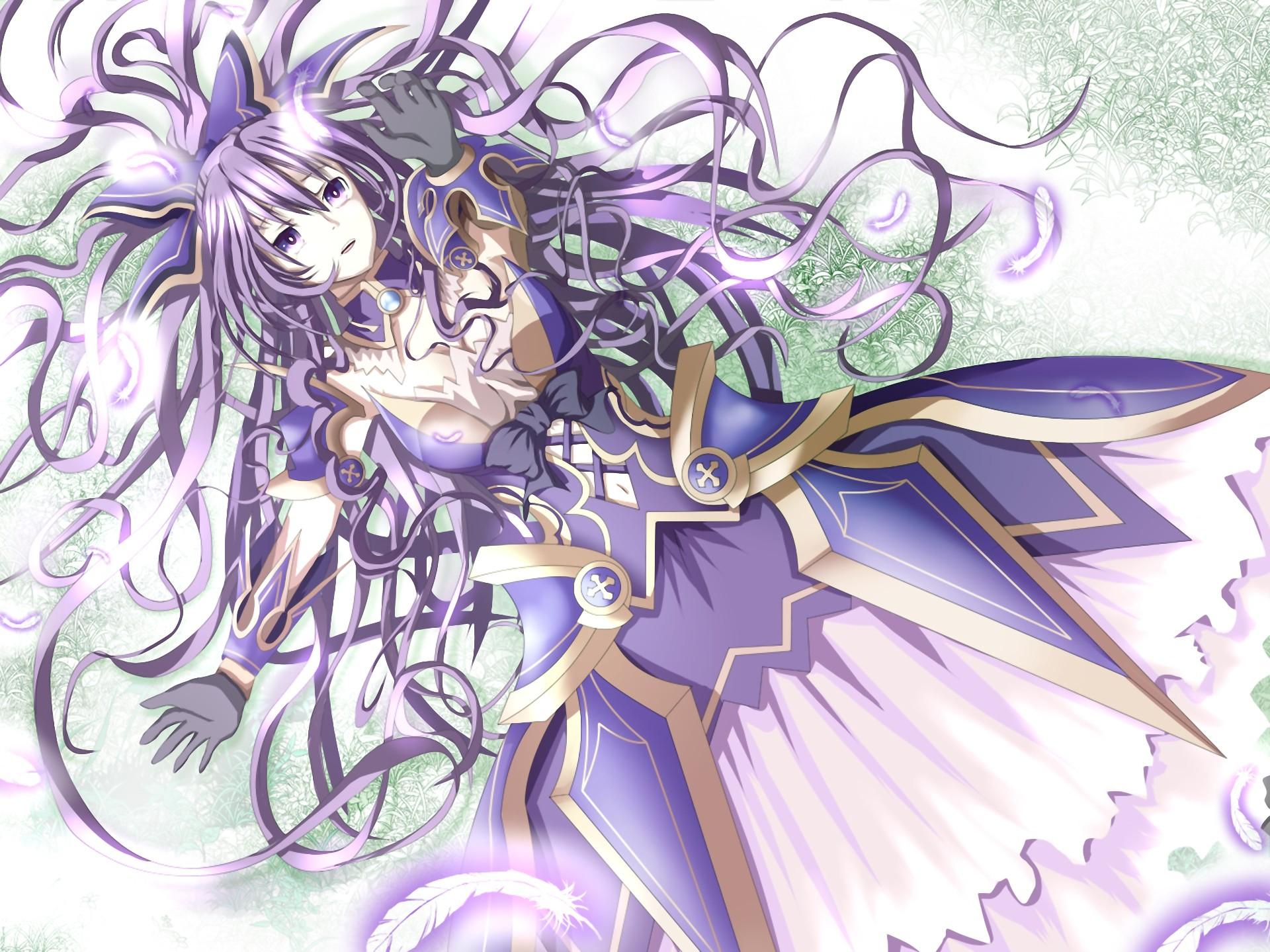 Wallpaper Gambar Ilustrasi Gadis Anime Date A Live
