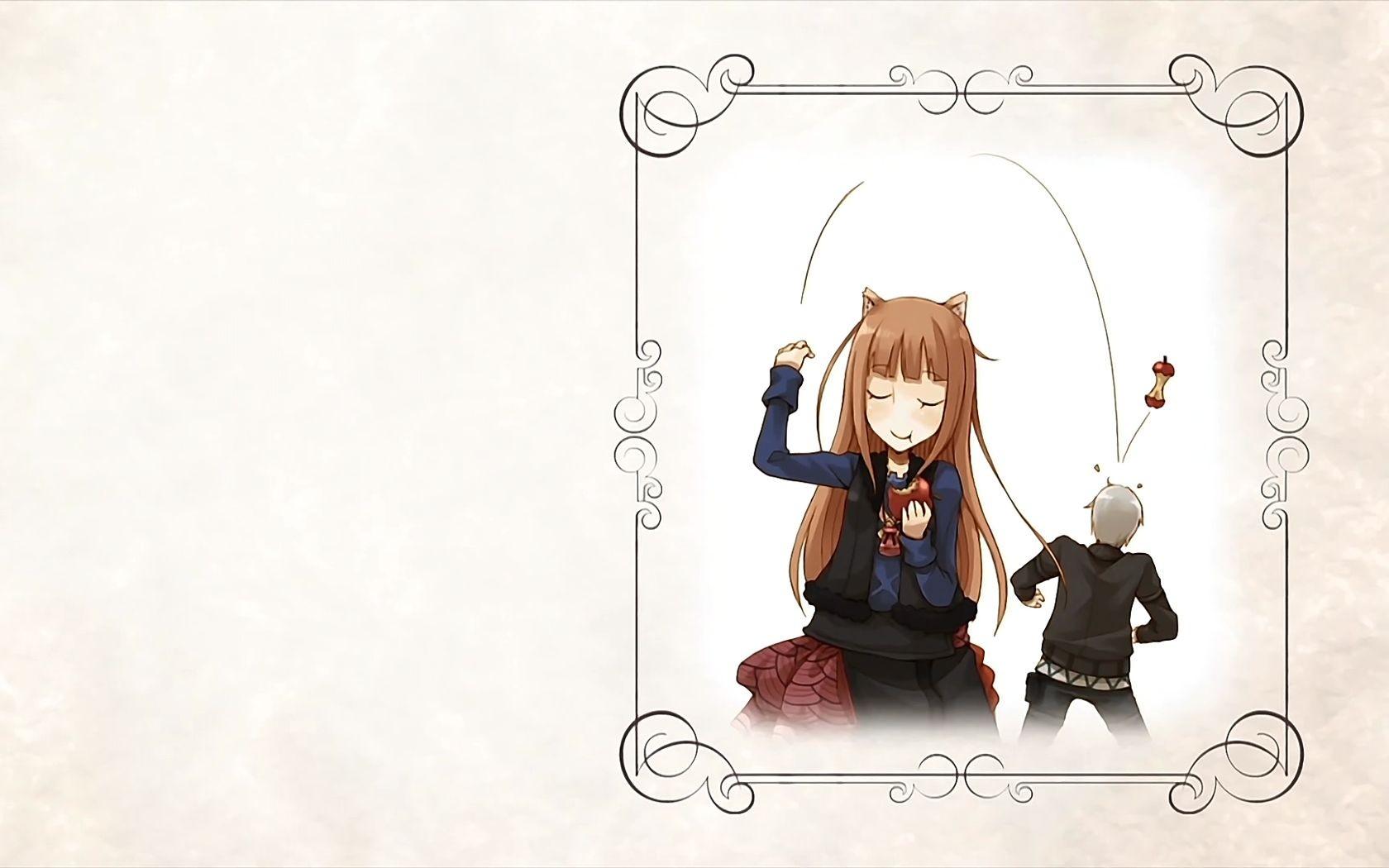 Wallpaper Ilustrasi Gadis Anime Gambar Kartun Apel