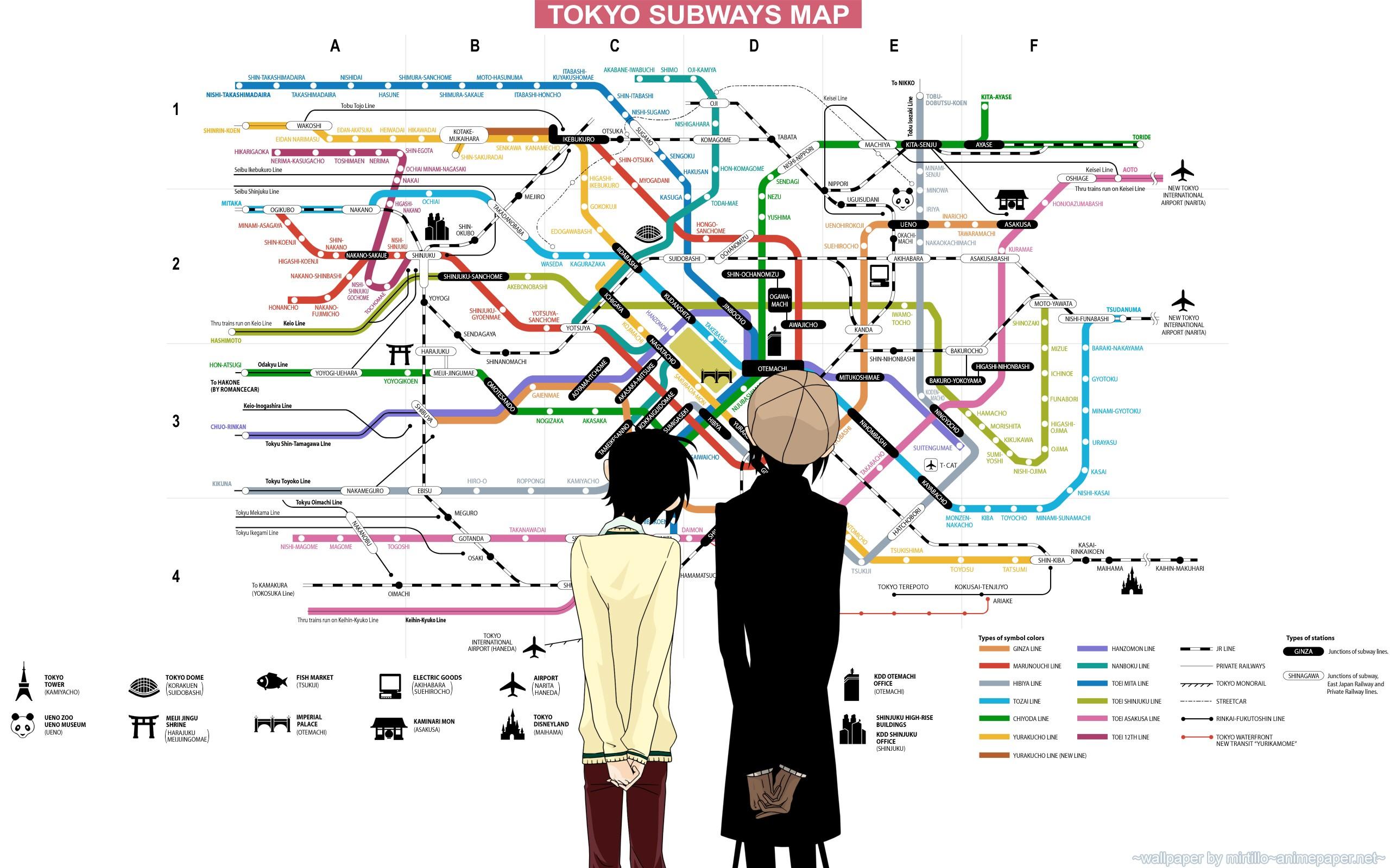 Hintergrundbilder : Zeichnung, Illustration, Anime, Karte, U-Bahn ...