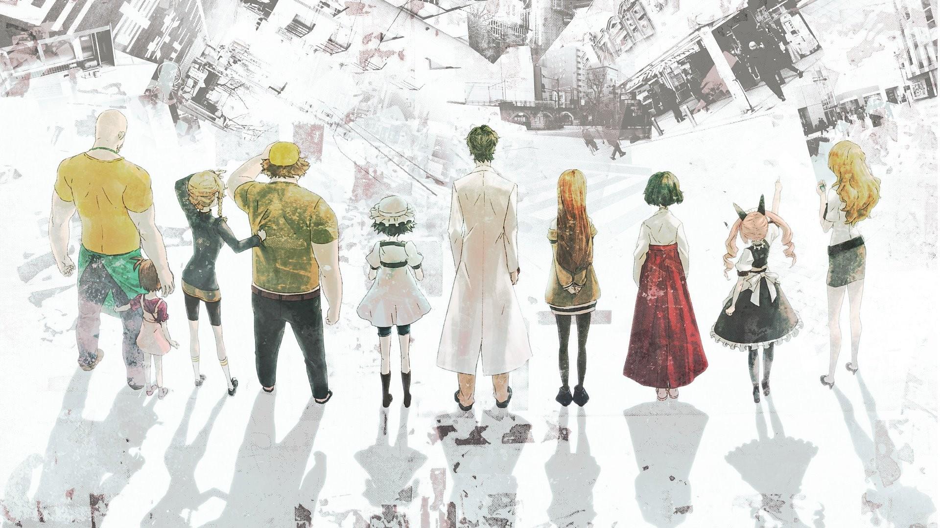 Tapety Vykres Ilustrace Anime Zima Moda Steins Gate Jaro
