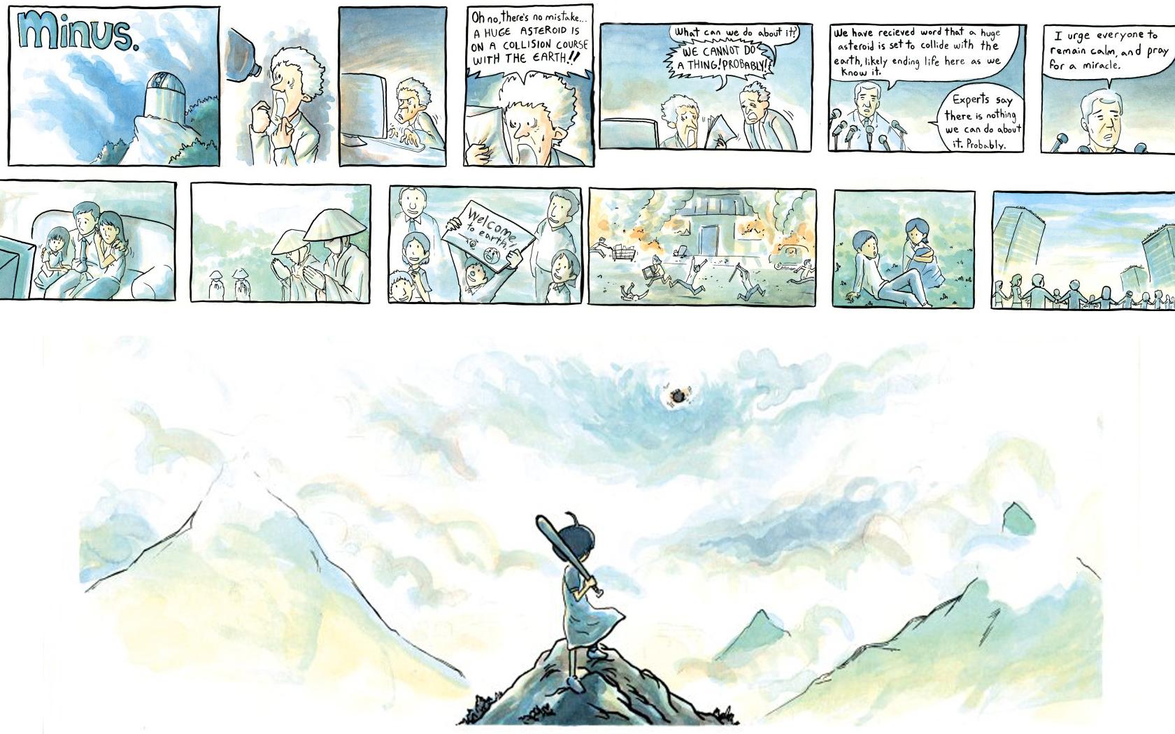 Wallpaper : drawing, illustration, artwork, cartoon, asteroid ...