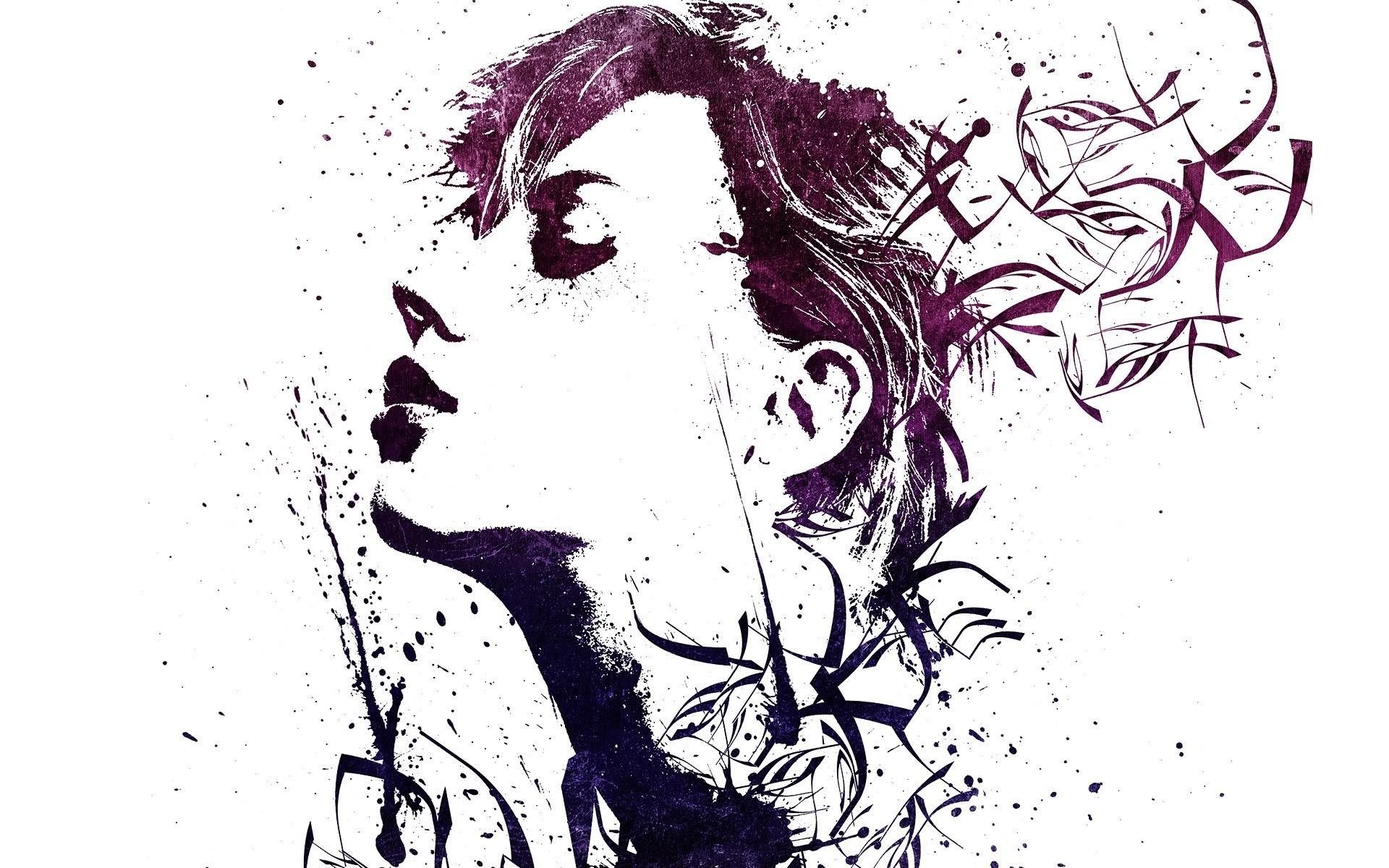 Wallpaper Illustration Artwork Cartoon Paint Splatter