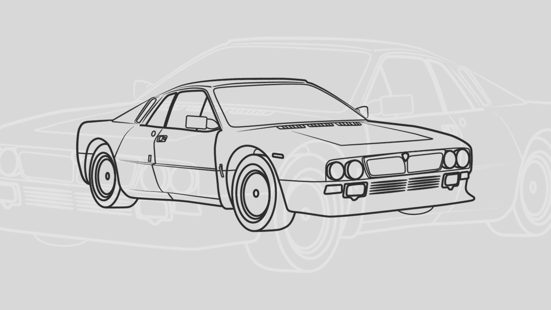 Fondos de pantalla dibujo ilustraci n veh culo for Design semplice del garage
