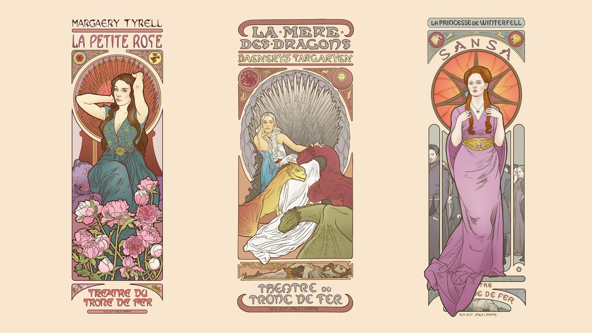 Wallpaper Drawing Illustration Fantasy Girl Collage