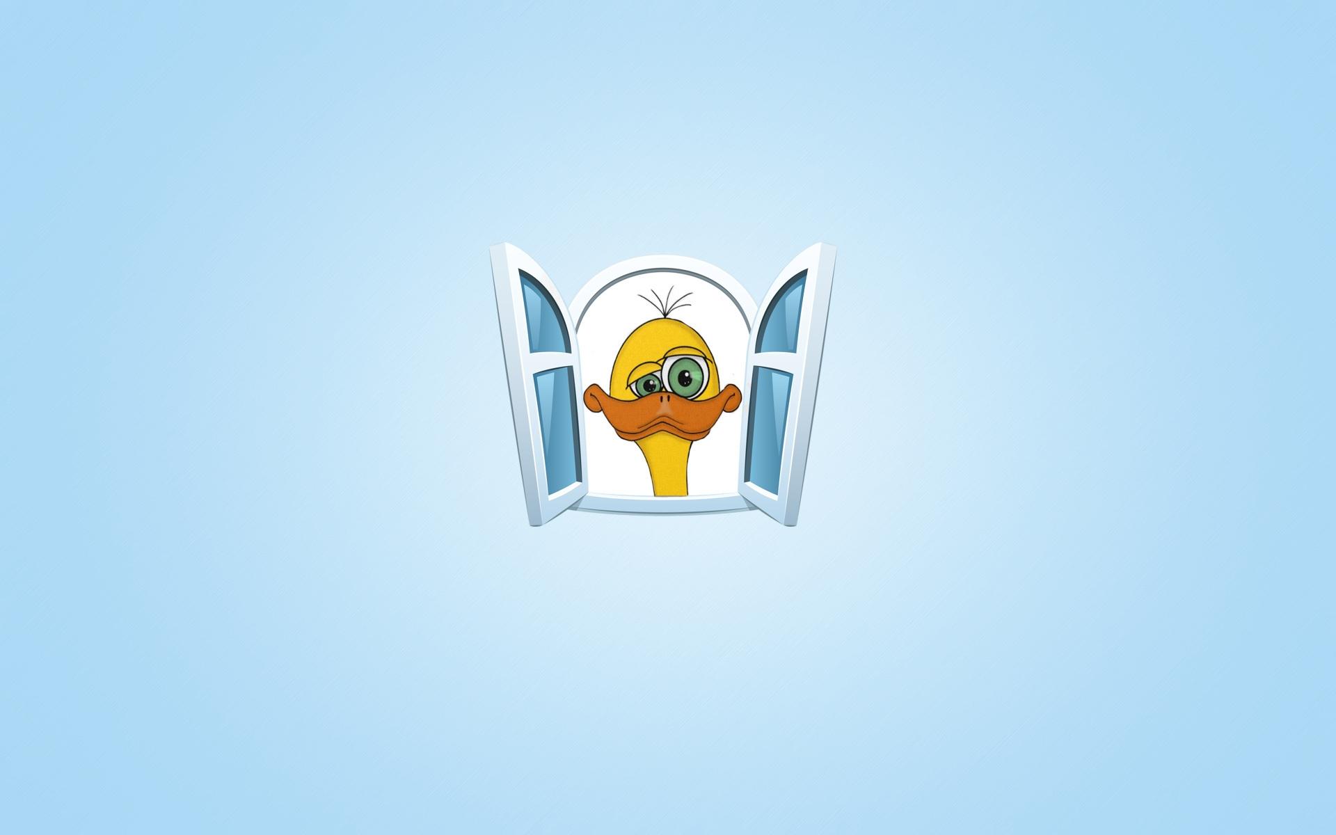 Wallpaper Ilustrasi Logo Gambar Kartun Sedih Bebek