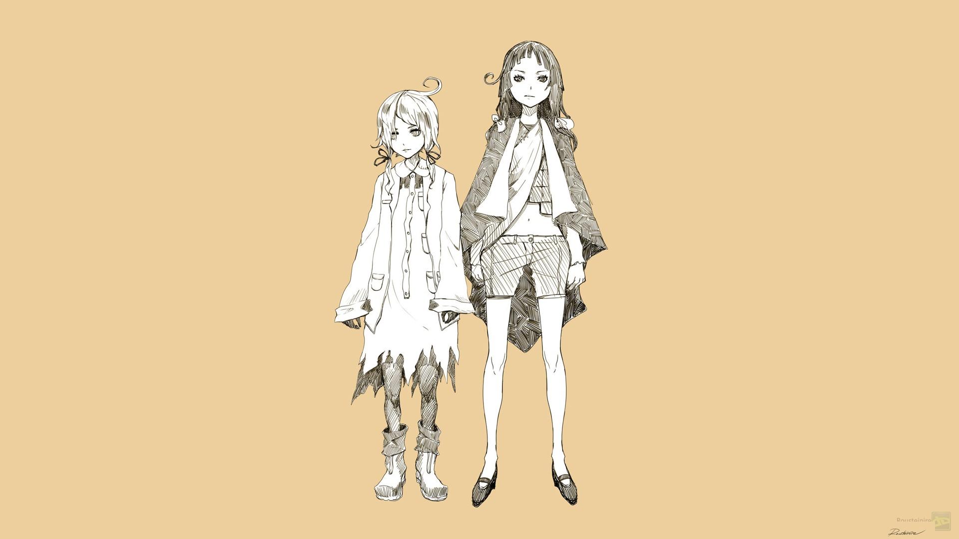 Wallpaper Ilustrasi Manga Kuning Gambar Kartun Karakter Asli