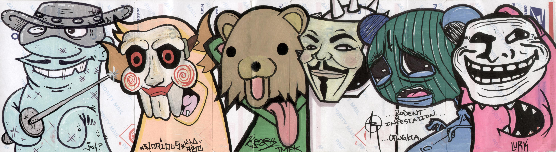 Papel De Parede Desenhando Ilustração Mascarar Desenho