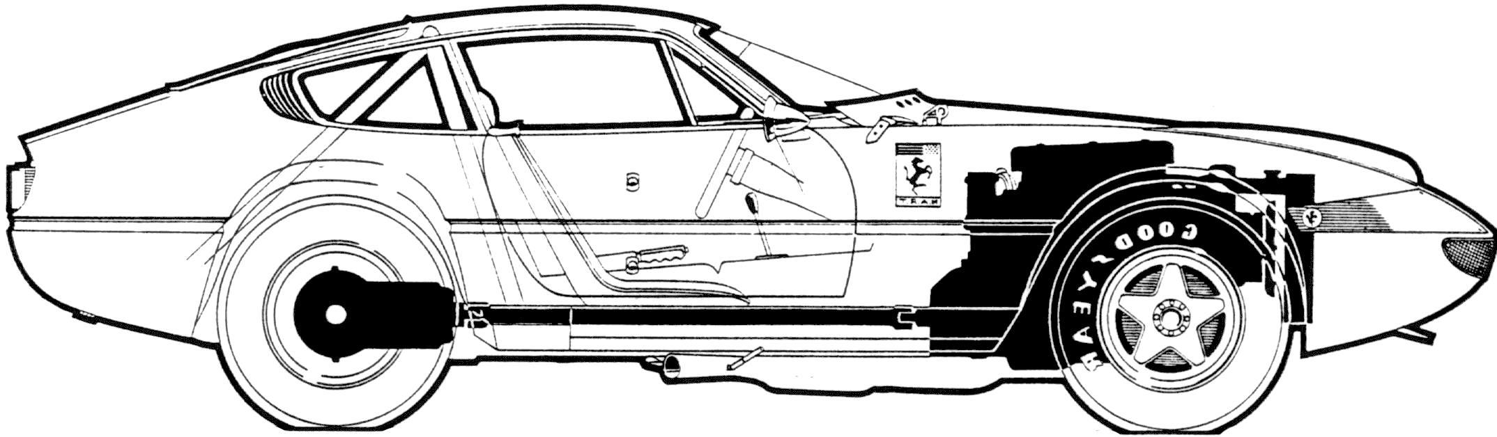 Wallpaper  drawing, illustration, vehicle, cartoon, Ferrari