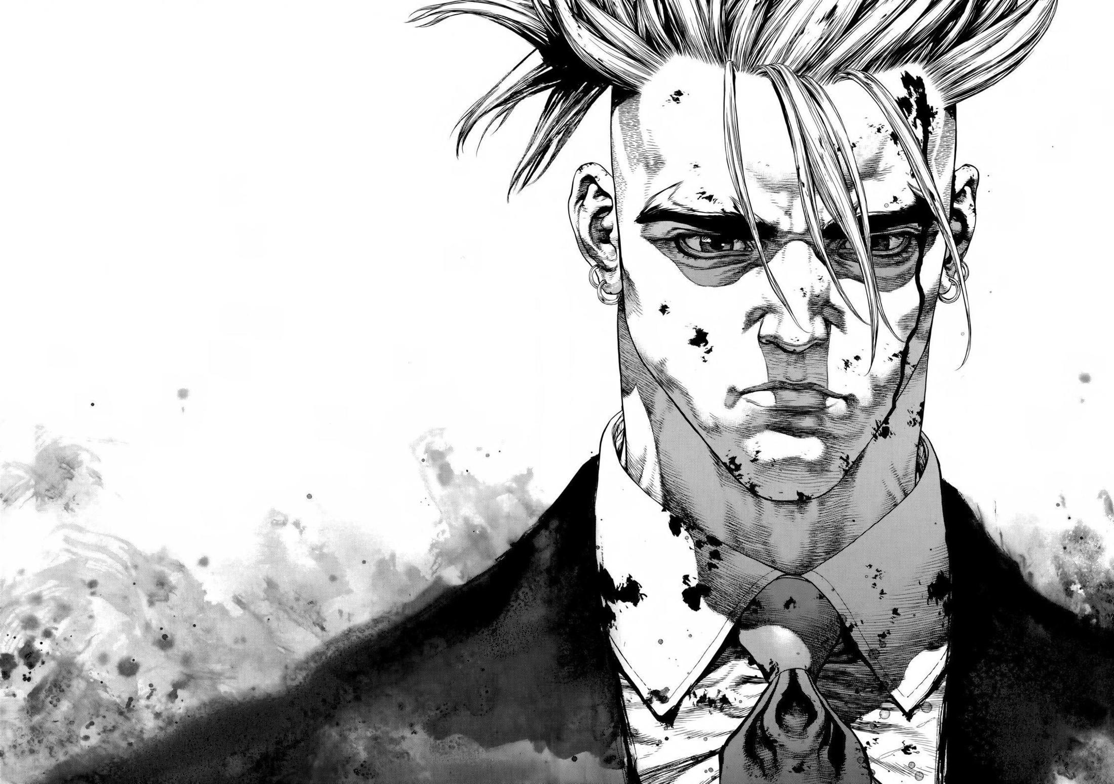 Fondos De Pantalla Dibujo Ilustración Monocromo Manga