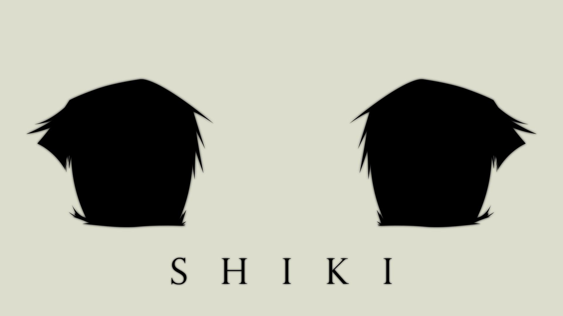 Wallpaper : drawing, illustration, silhouette, logo, Shiki, brand