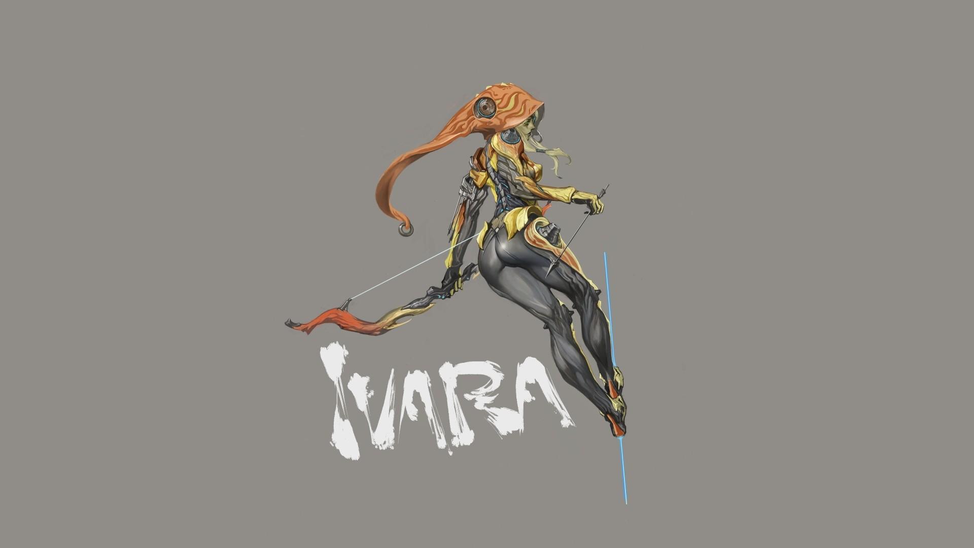 Wallpaper Ilustrasi Video Game Gambar Kartun Ivara Warframe