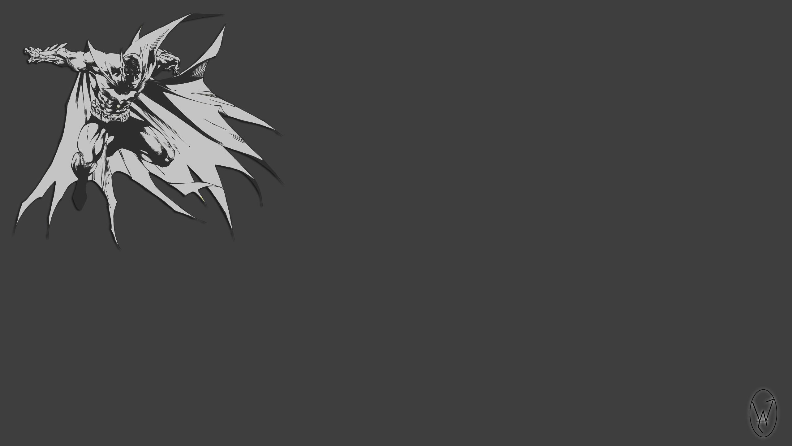 Wallpaper Drawing The Dark Knight Batman Logo Vector Art