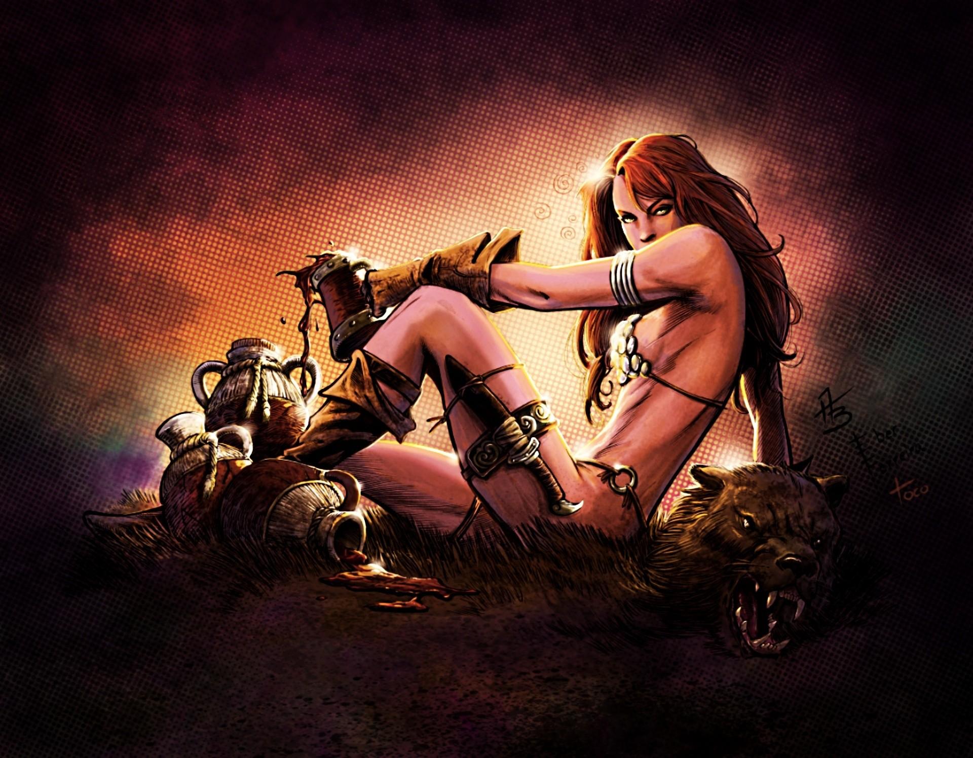 Sexy hot warriors naked photo