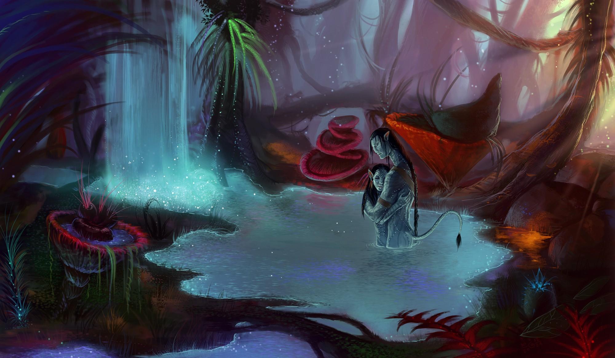 Fondos De Pantalla Dibujo Pintura Anime Avatar Pandora