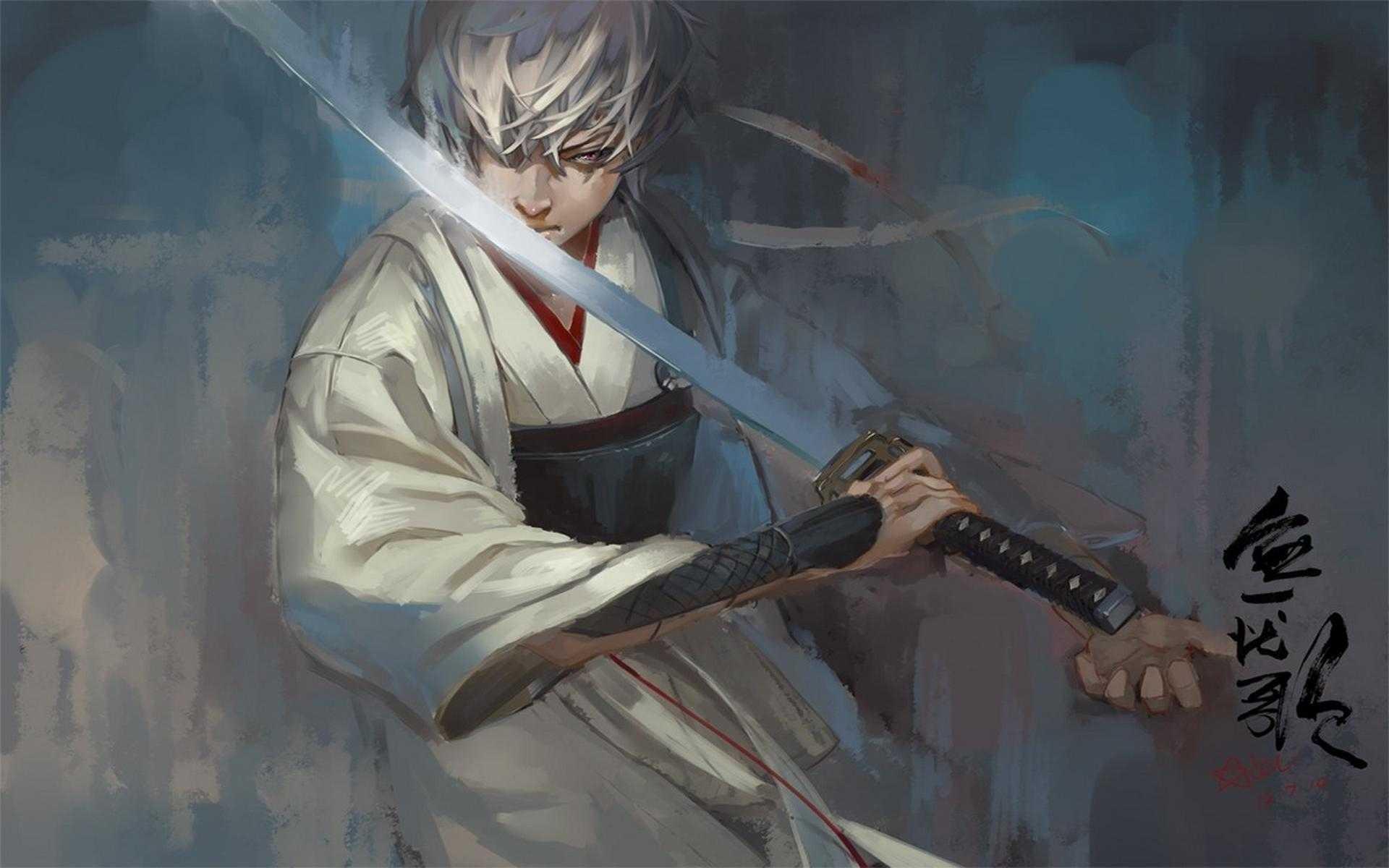 Аниме парни самураи картинки