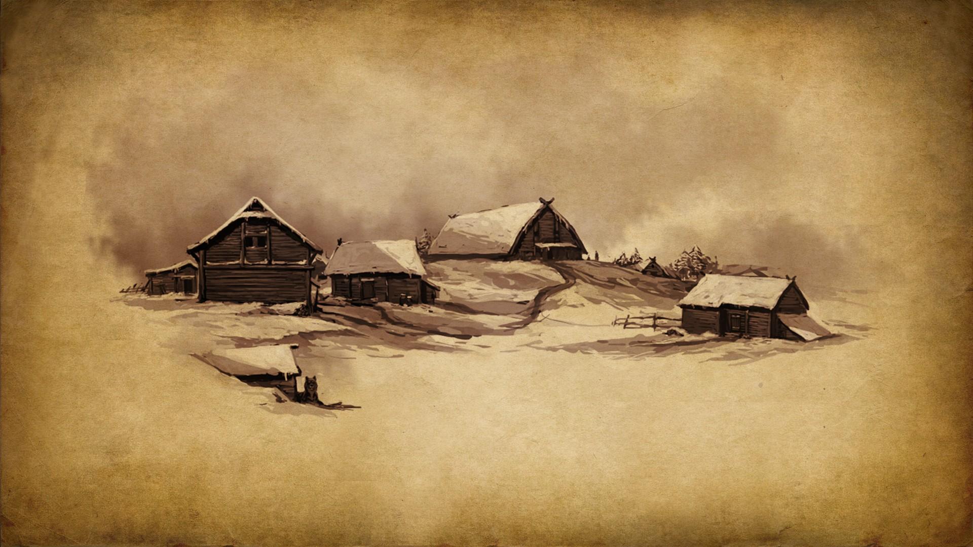 Wallpaper Gambar Lukisan Seni Fantasi Tekstur Gunung