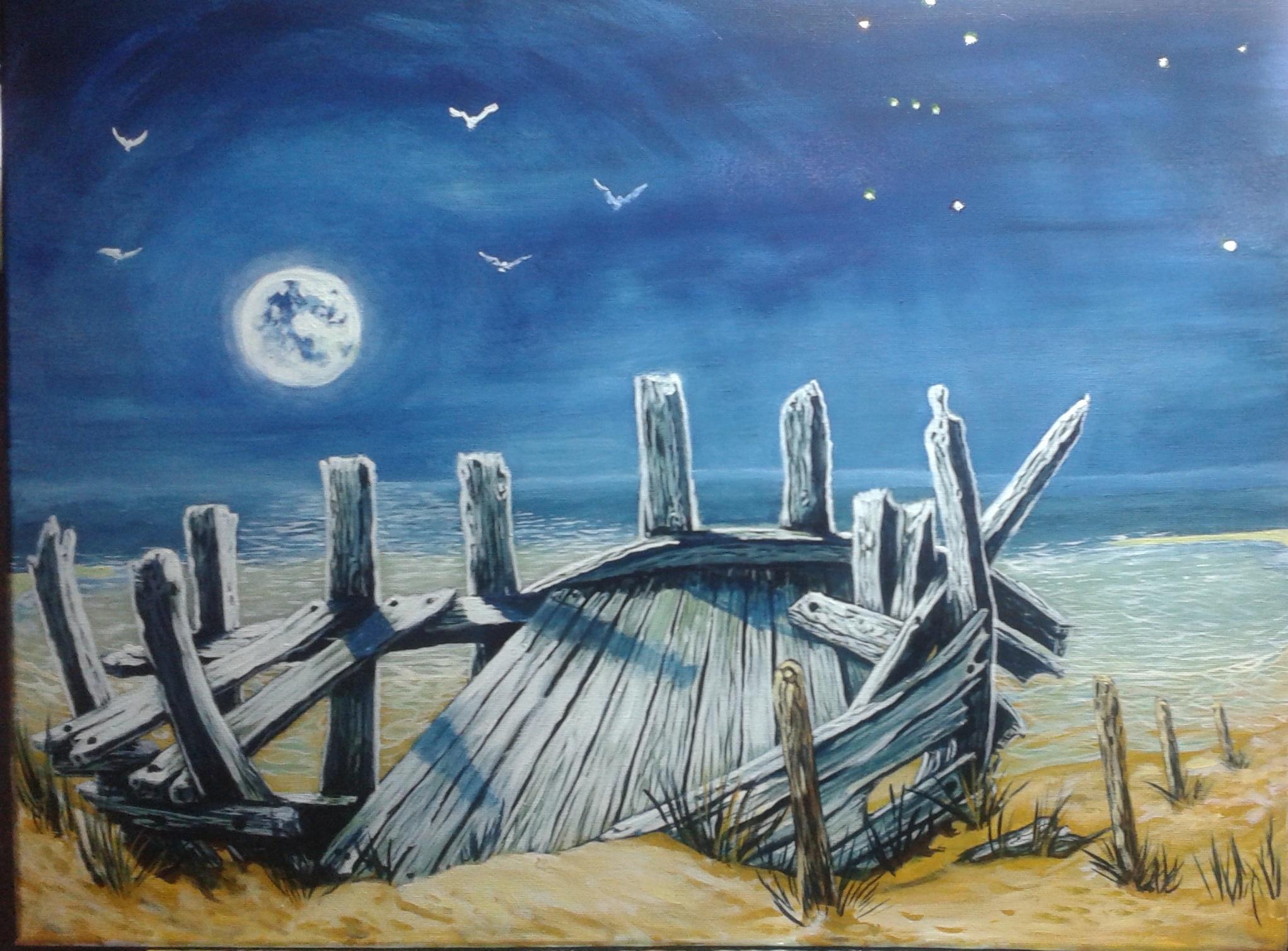 Masaüstü çizim Boyama Illüstrasyon Kuşlar Deniz Kum Gökyüzü