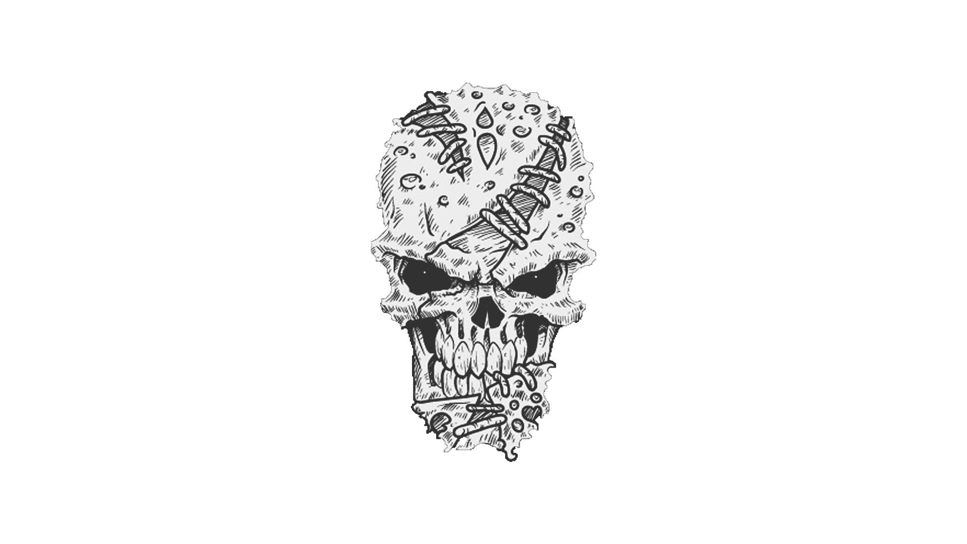 Hintergrundbilder : Zeichnung, Muster, Schädel, Hand, Flügel ...