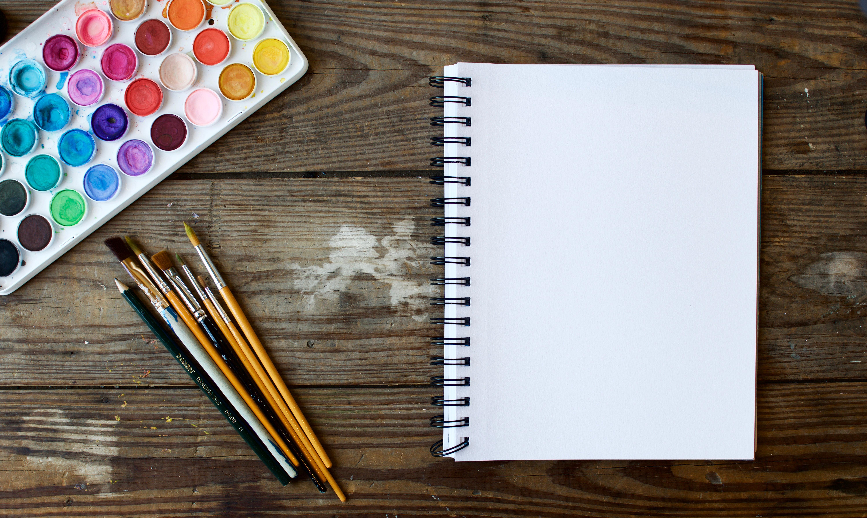 красивые картинки с предметами для рисования популярные аудио-открыток дню