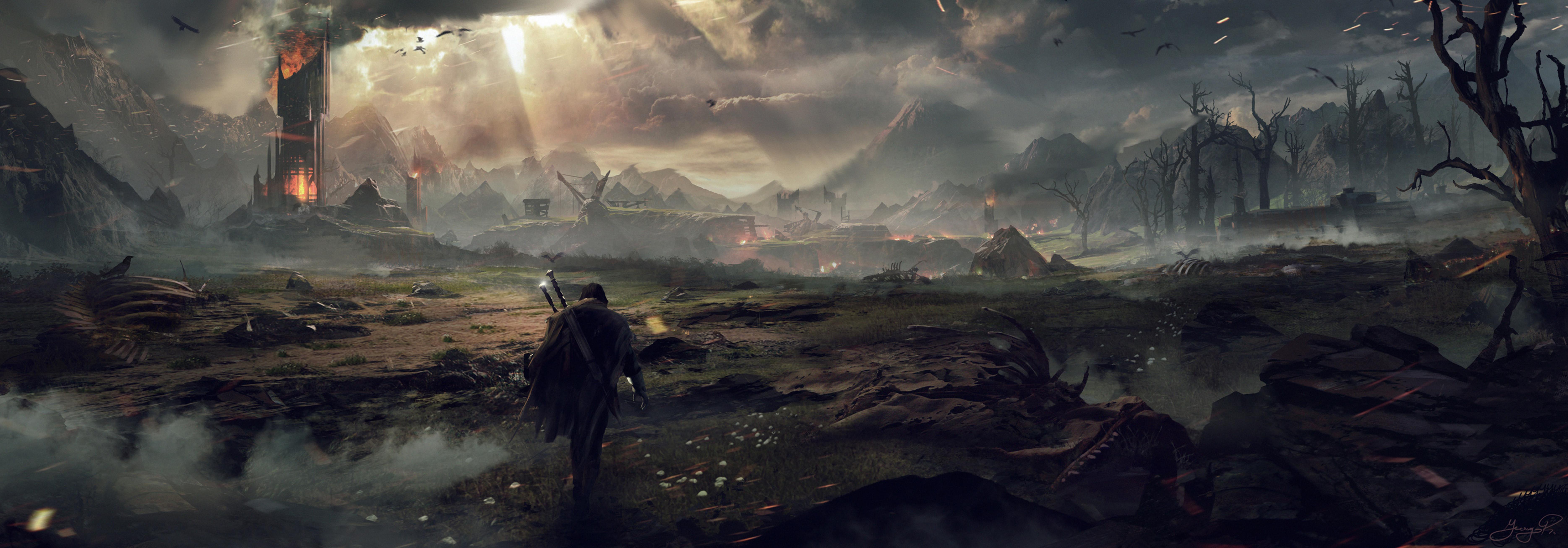 Video Game Concept Art Wallpaper
