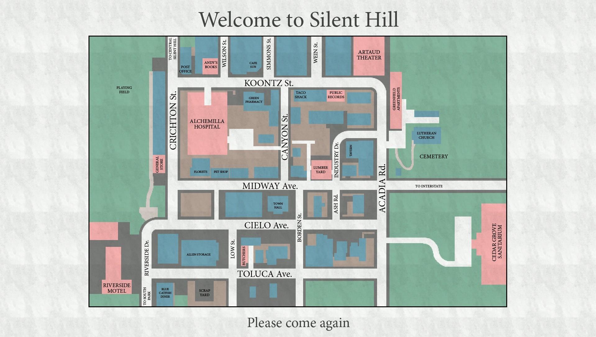 Wallpaper : drawing, video games, interior design, Silent Hill ...
