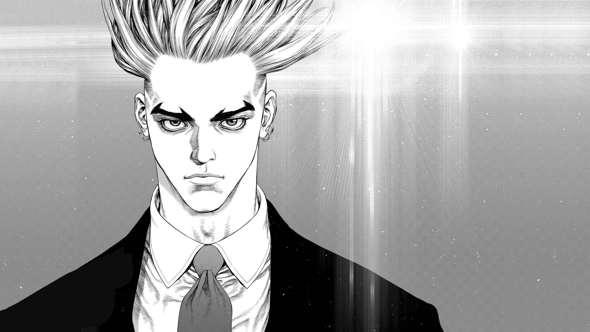Fondos De Pantalla Dibujo Ilustración Monocromo Anime