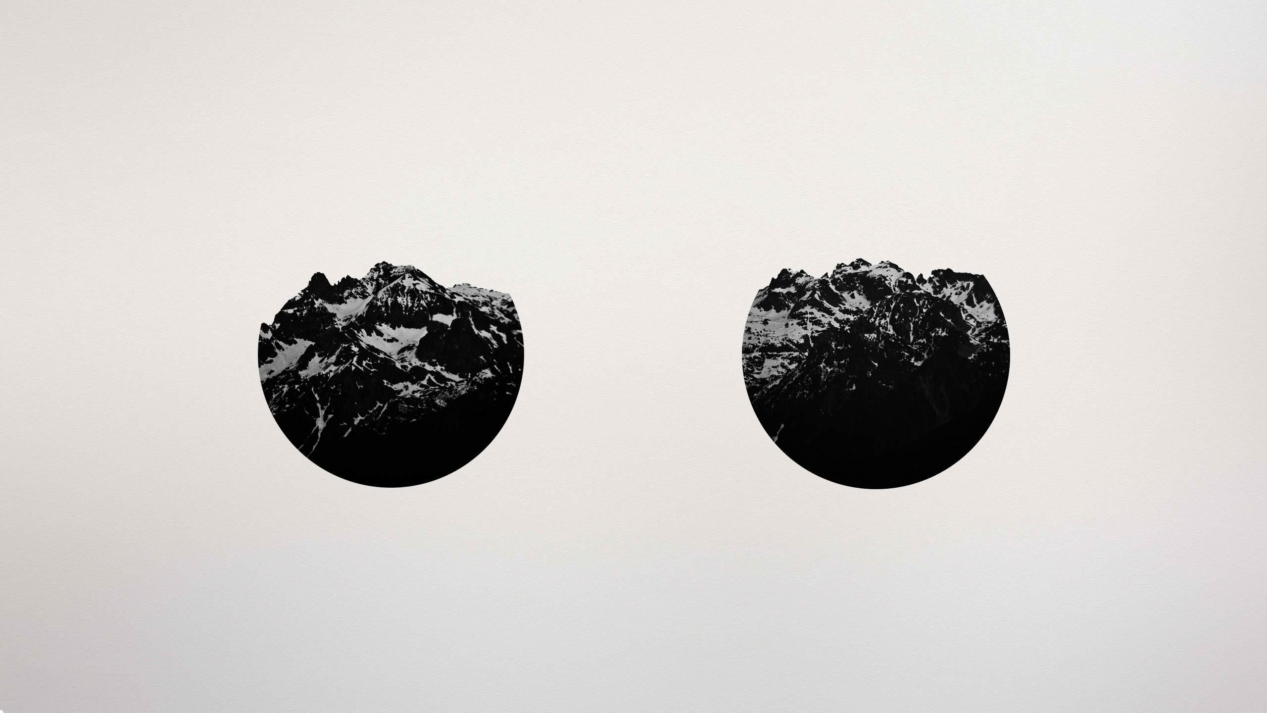 Fond D Ecran Dessin Illustration Montagnes Monochrome Art