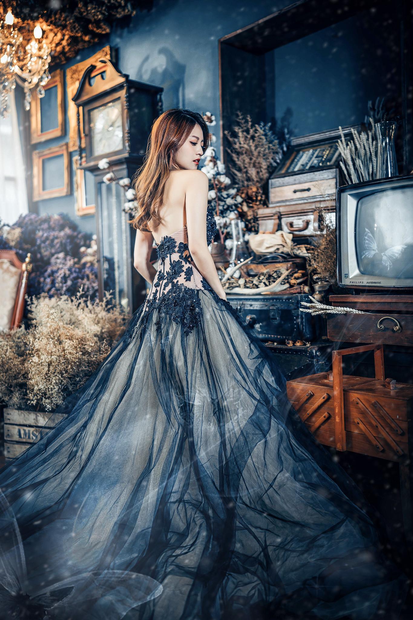 デスクトップ壁紙 ドレス テレビ 植物 アジア人 モデル 屋内の