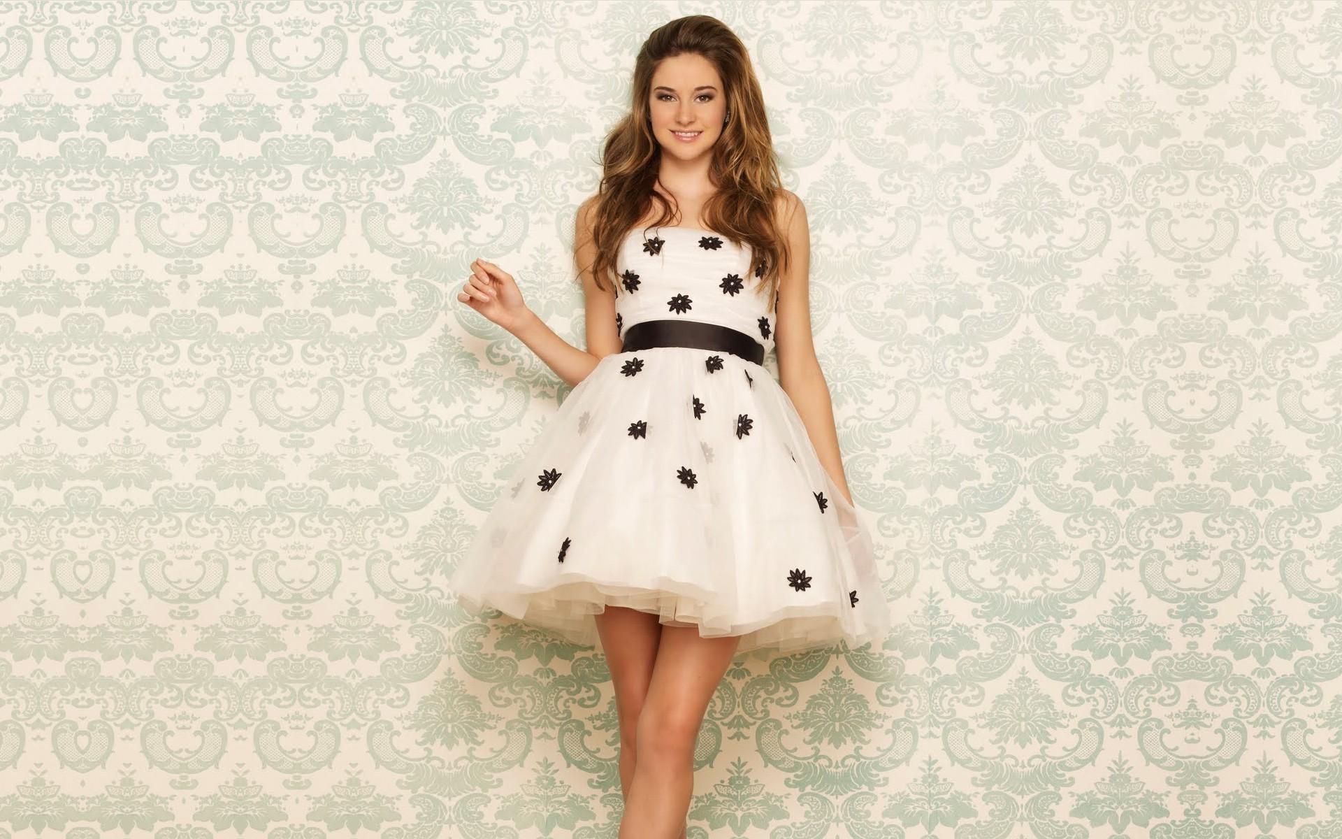 Hintergrundbilder : Kleid, Muster, Hochzeitskleid, Shailene Woodley ...
