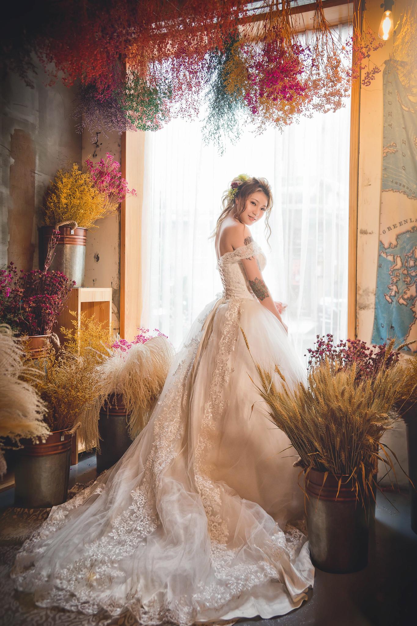 デスクトップ壁紙 ドレス モデル アジア人 植物 屋内の女性