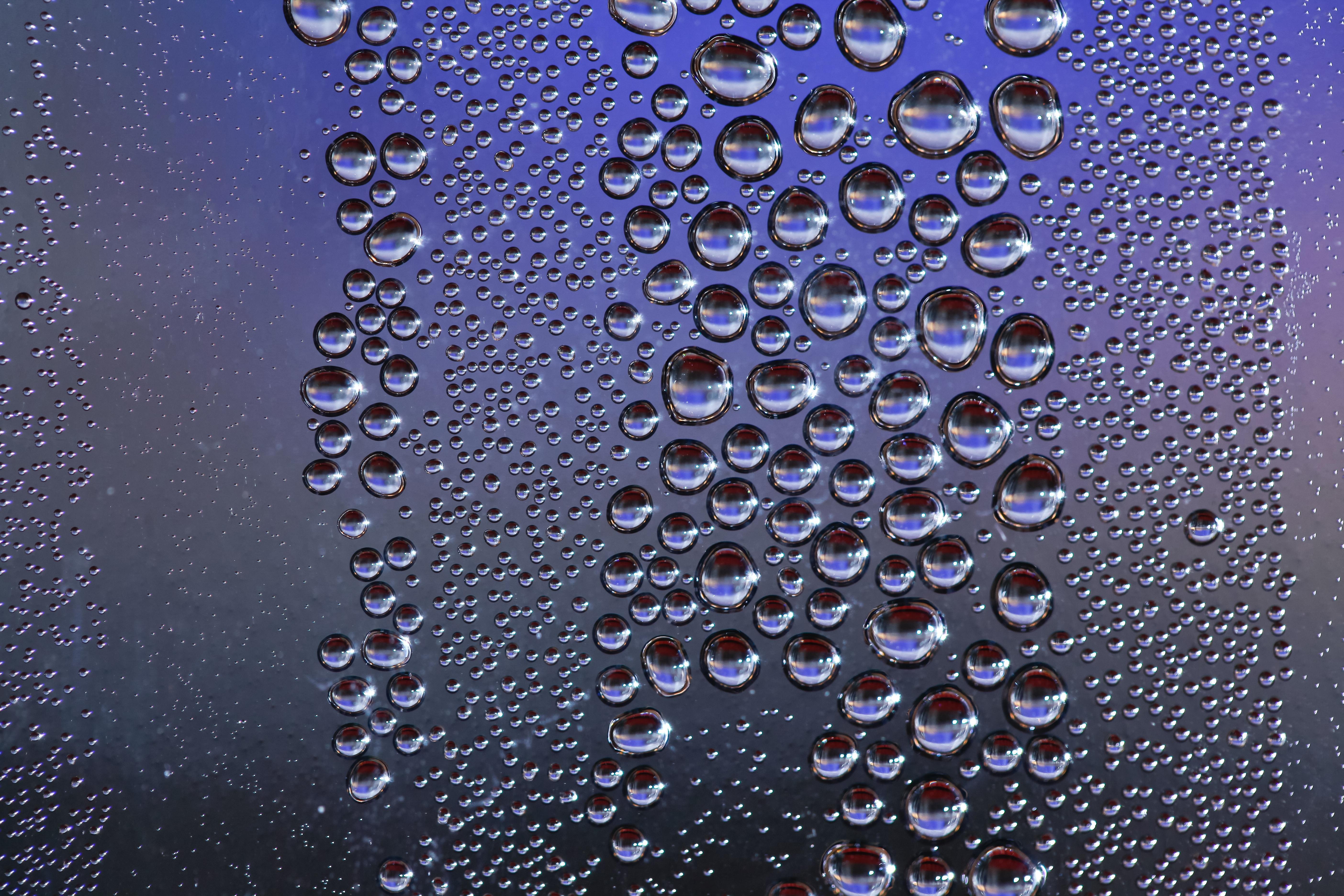 Картинки воды на стекле