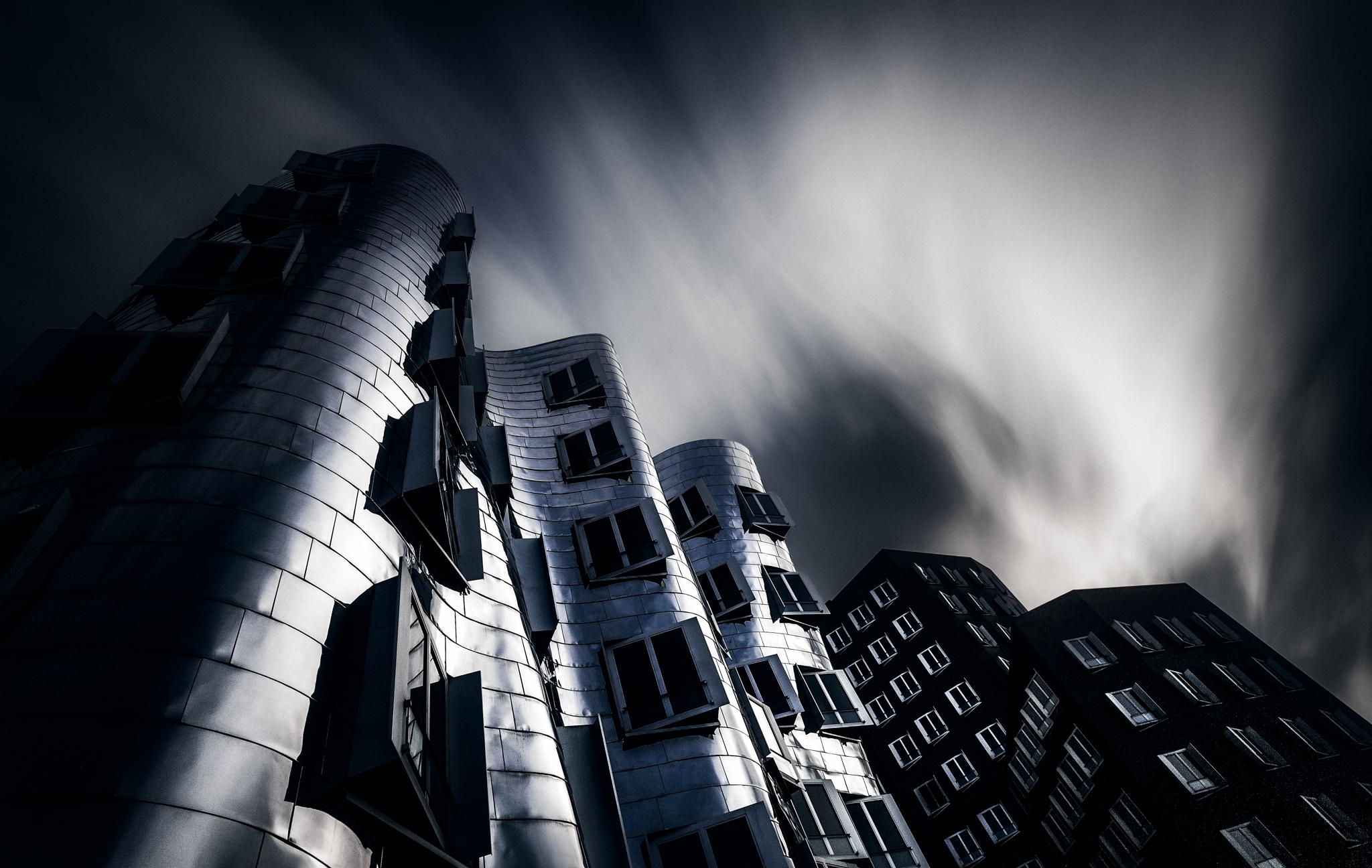 Hintergrundbilder duesseldorf d sseldorf frankgehry - Dekonstruktivismus architektur ...